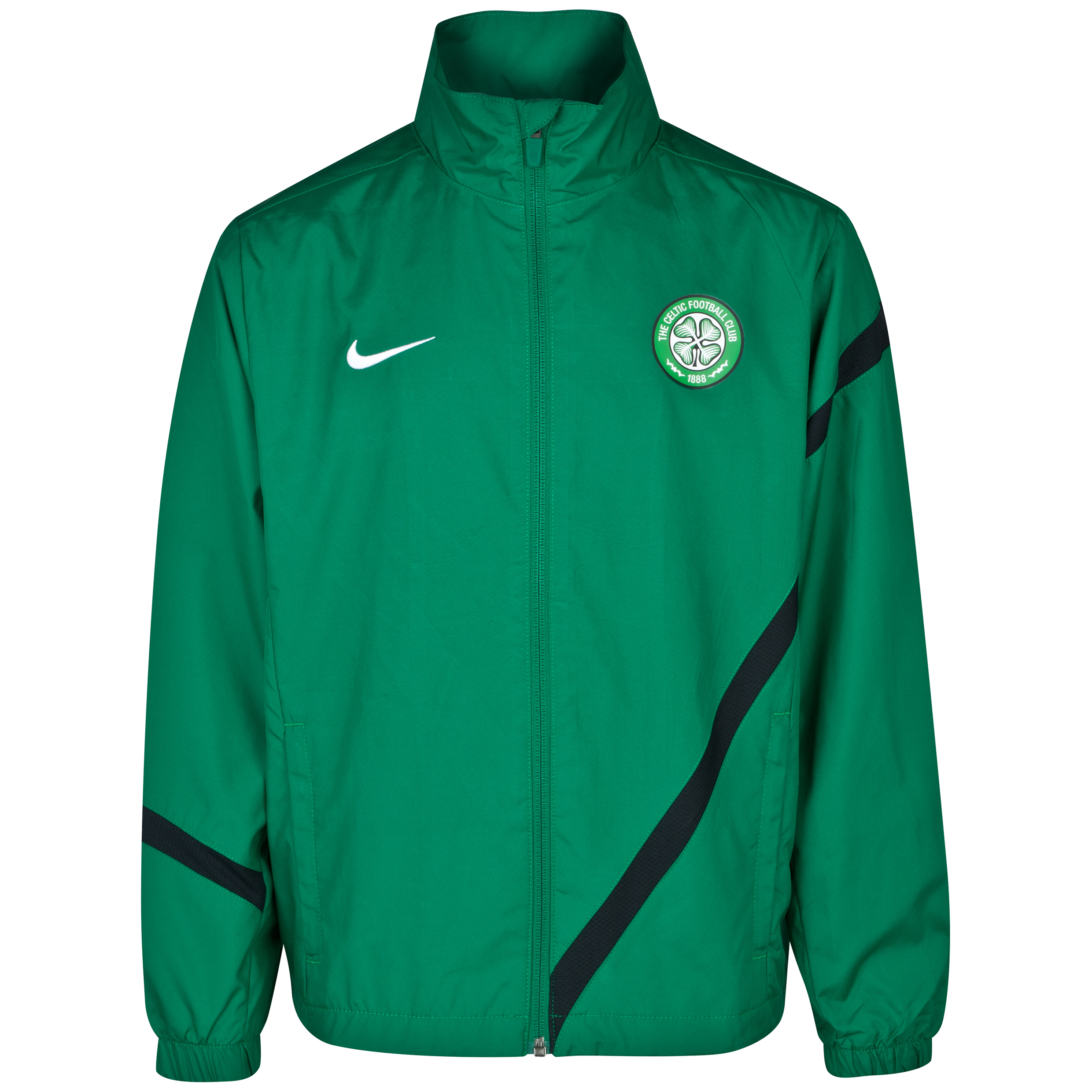 Celtic Comp Sideline Jacket - Pine Green - Youths