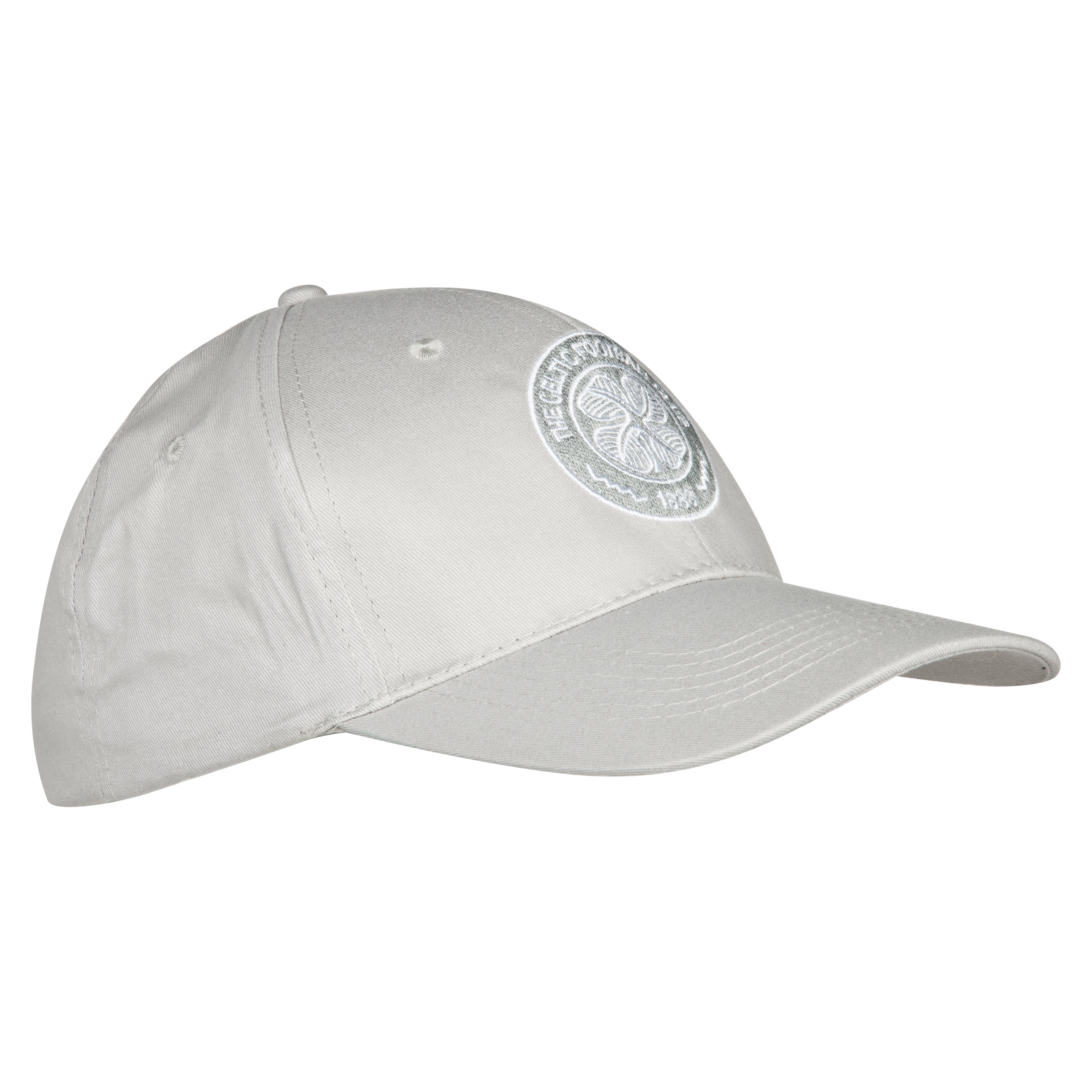 Celtic Basic Crest Cap - Grey - Adult
