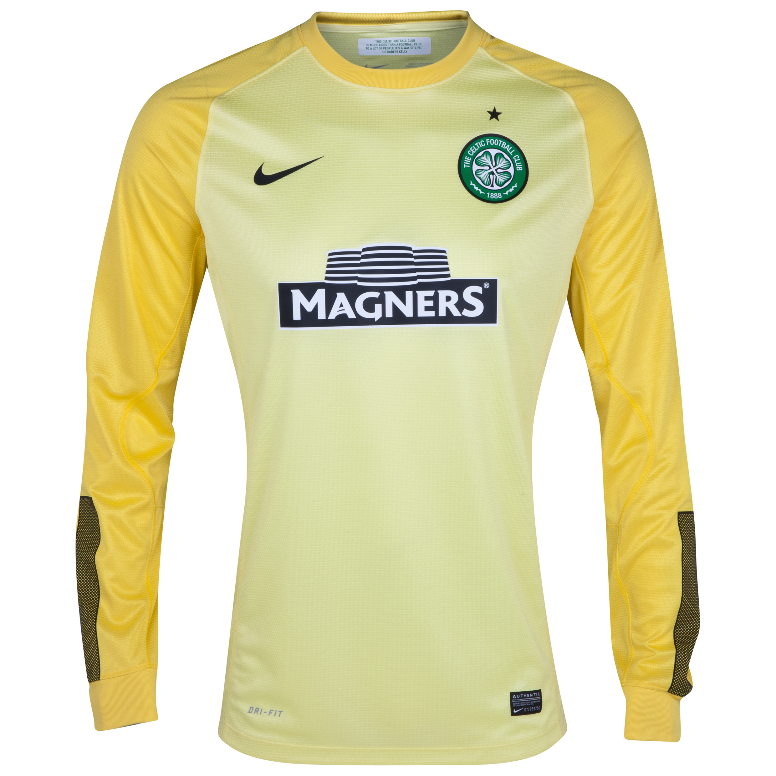 Celtic Home Goalkeeper Shirt 2013/15