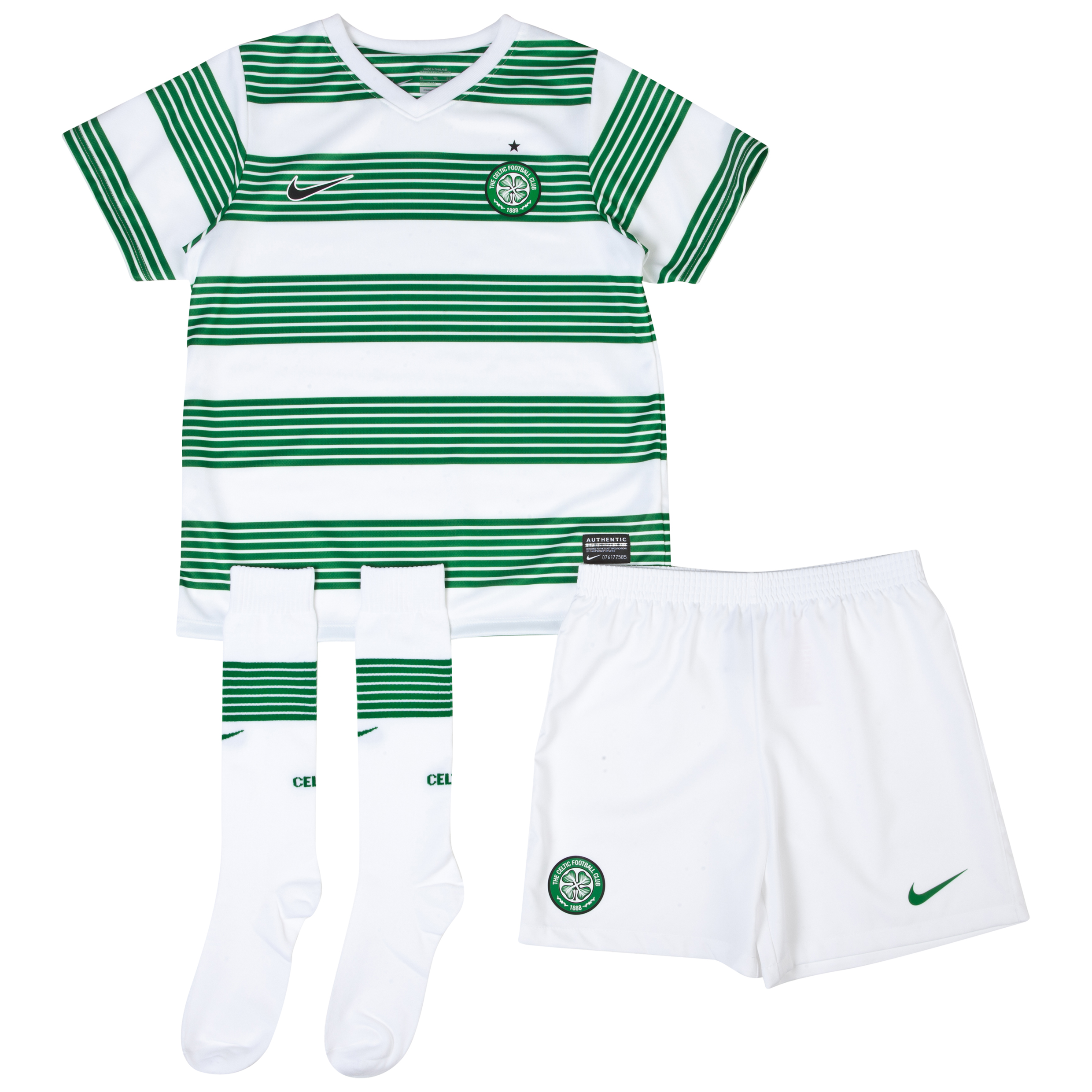 Celtic Home Kit 2013/15 - Little Boys