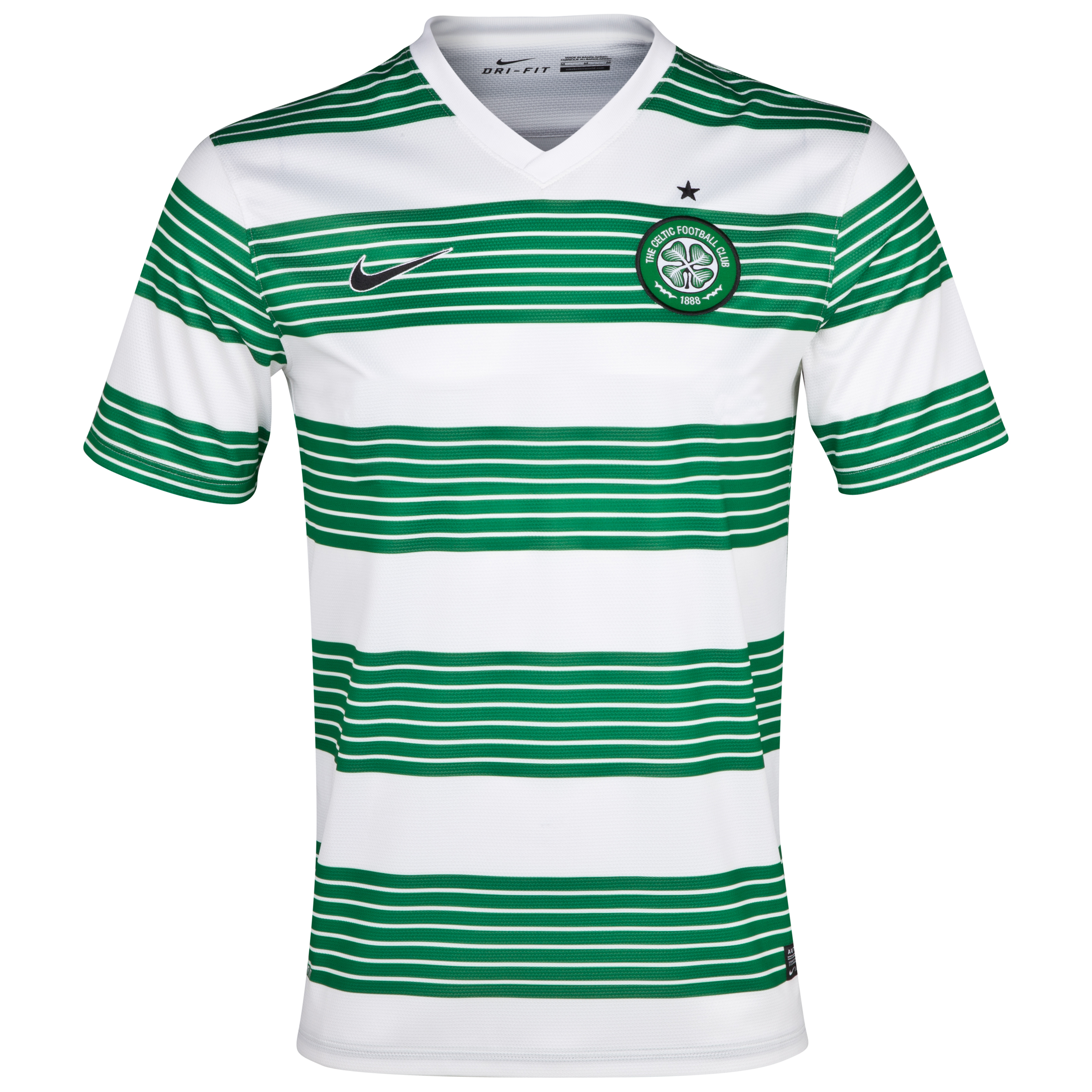Celtic Home Shirt 2013/15- Unsponsored