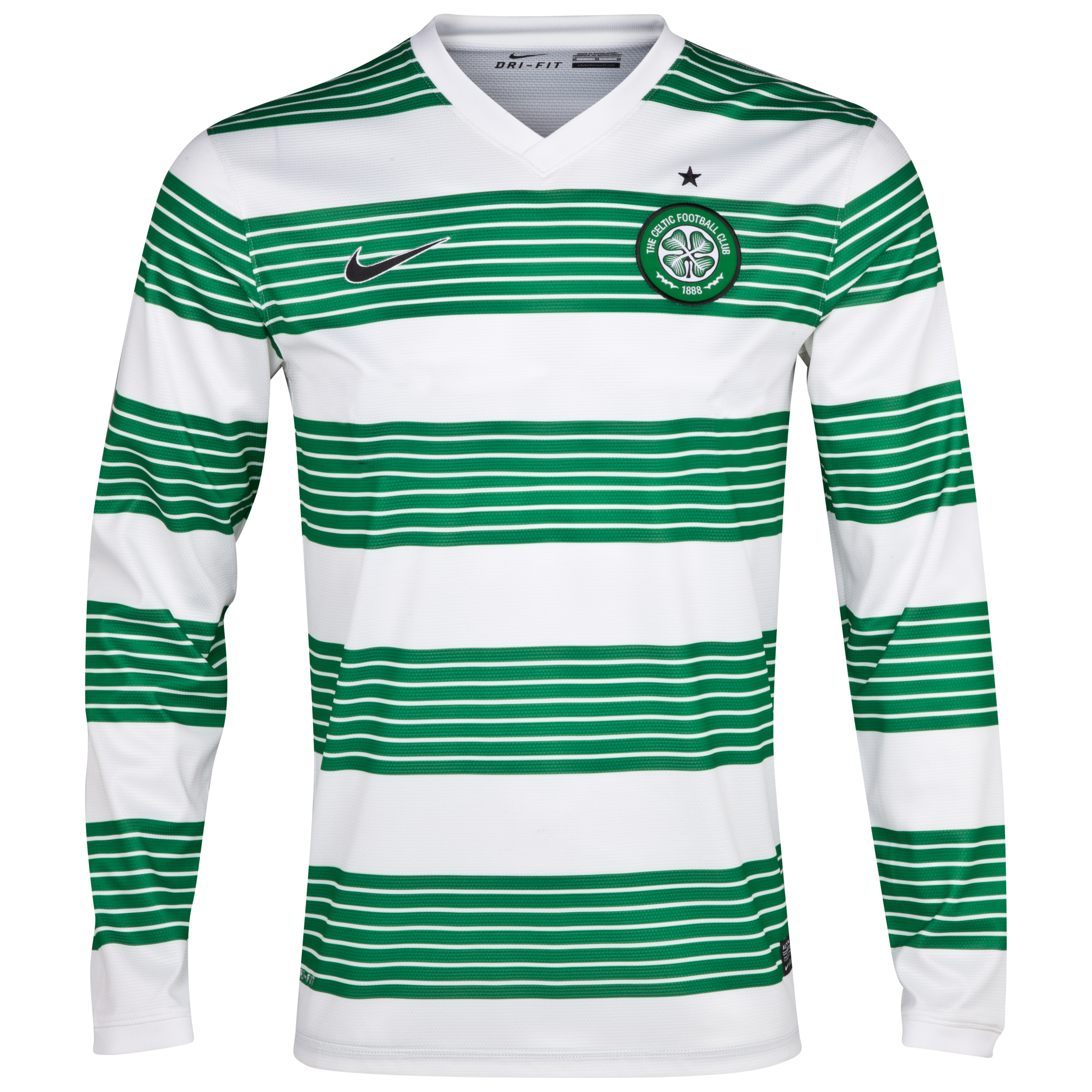 Celtic Home Shirt 2013/15 - L/S- Unsponsored