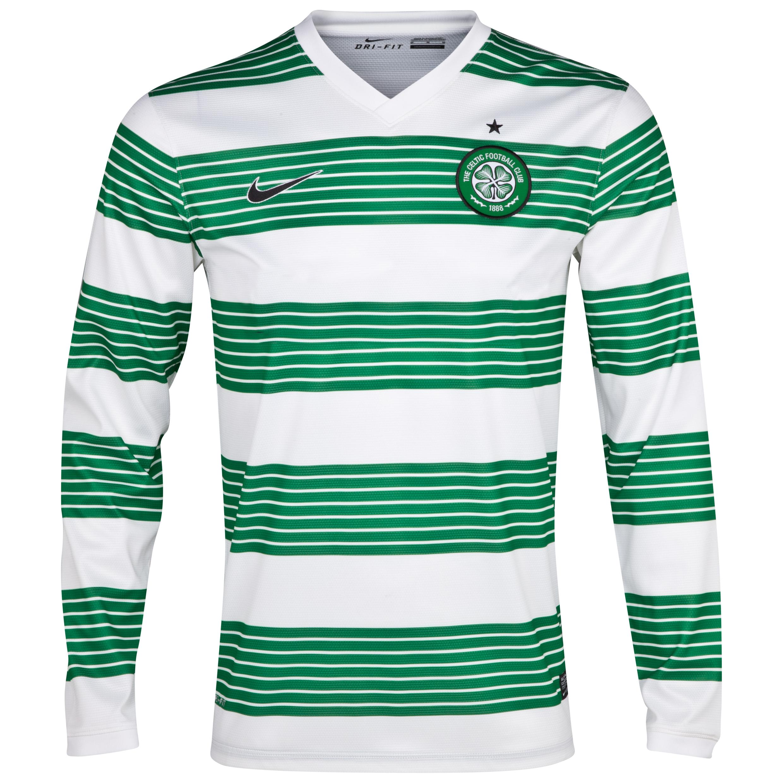 Celtic Home Shirt 2013/15 - L/S- Unsponsored