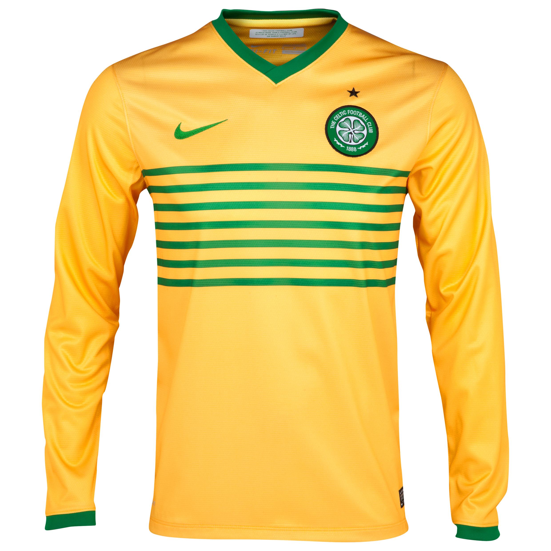 Celtic Away Shirt 2013/14 - L/S- Unsponsored