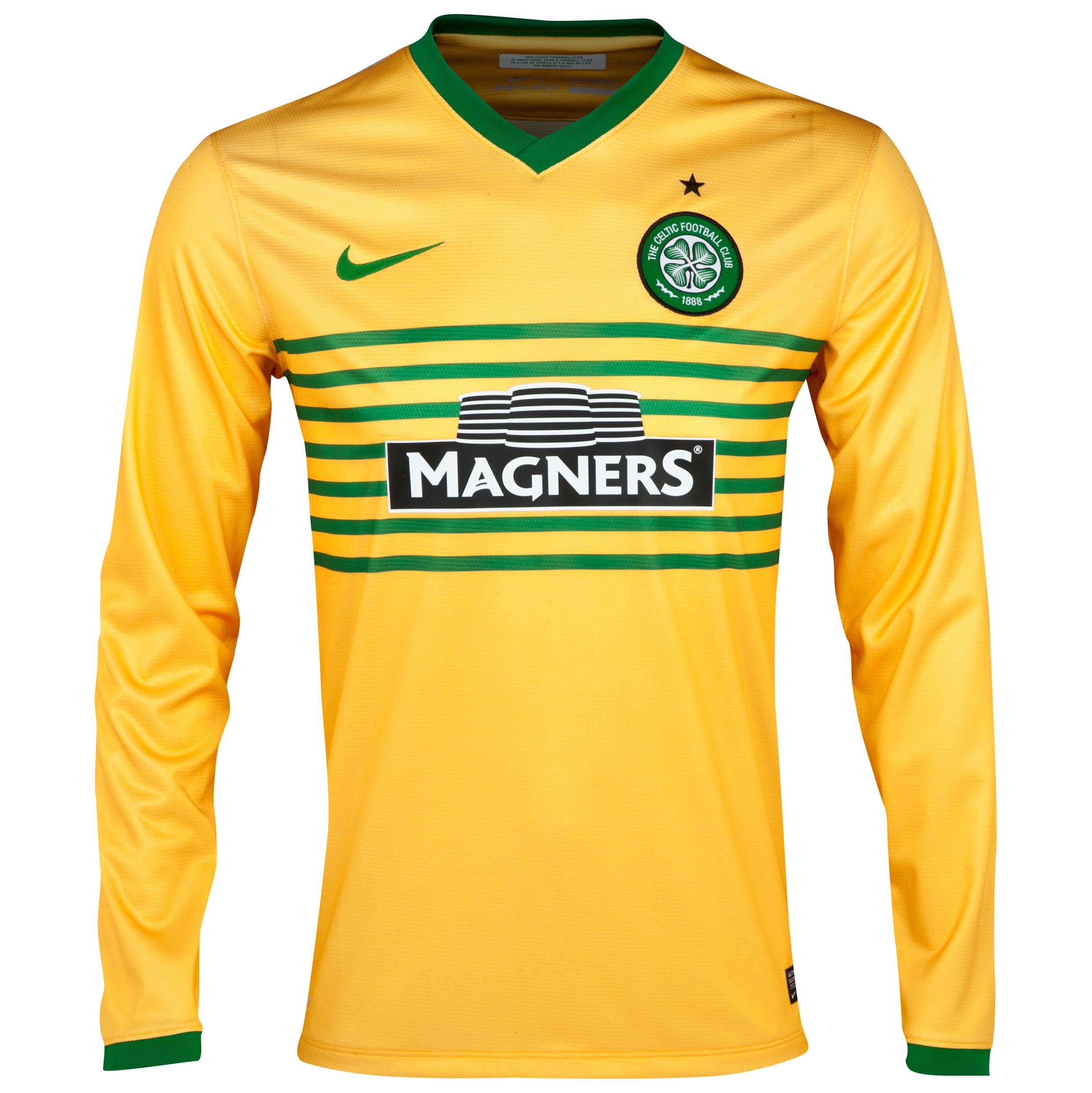 Celtic Away Shirt 2013/14 - Long Sleeved