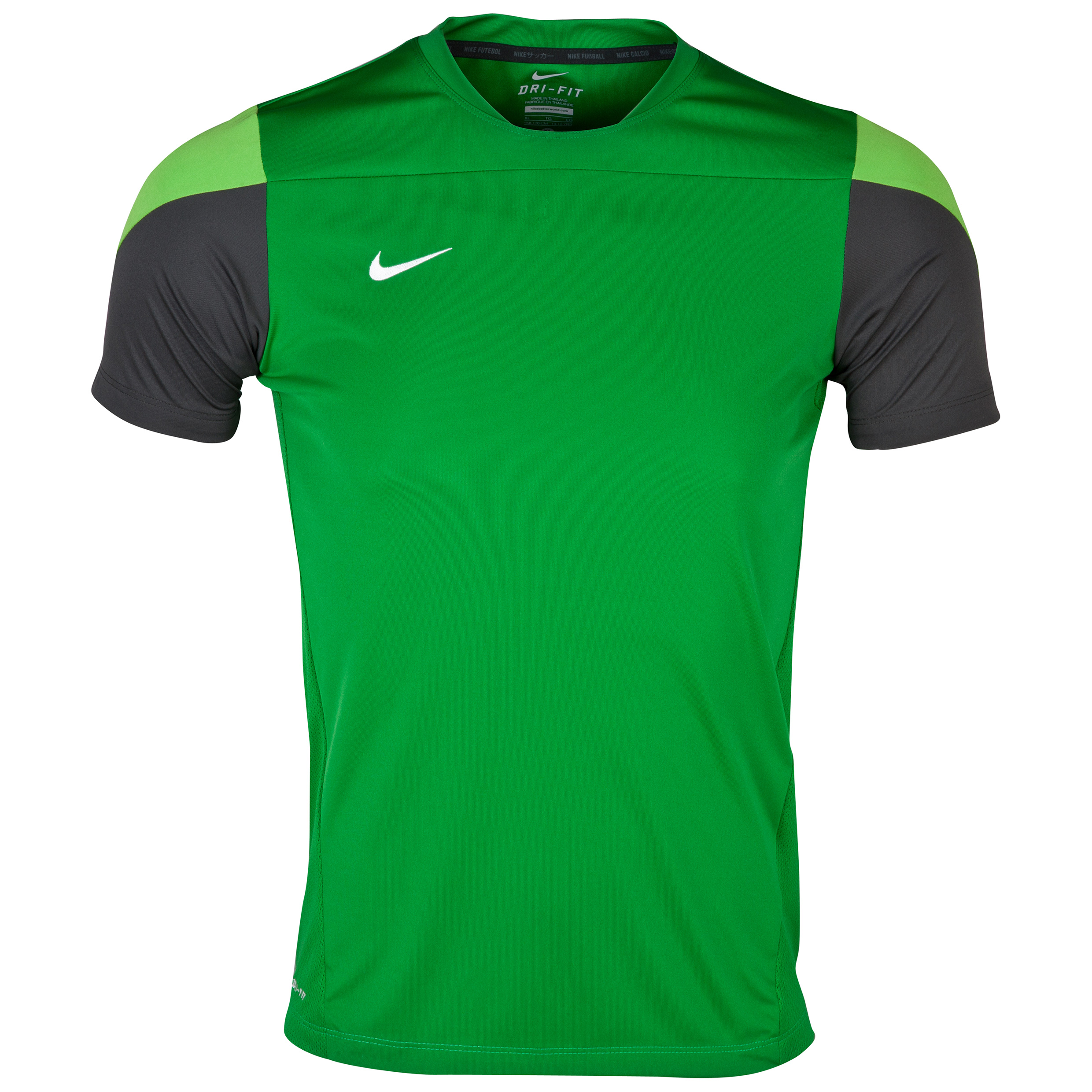 Celtic Short Sleeve Training Top - Green/White - Kids Green