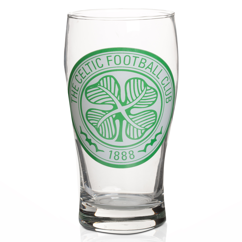 Celtic Tulip Pint Glass