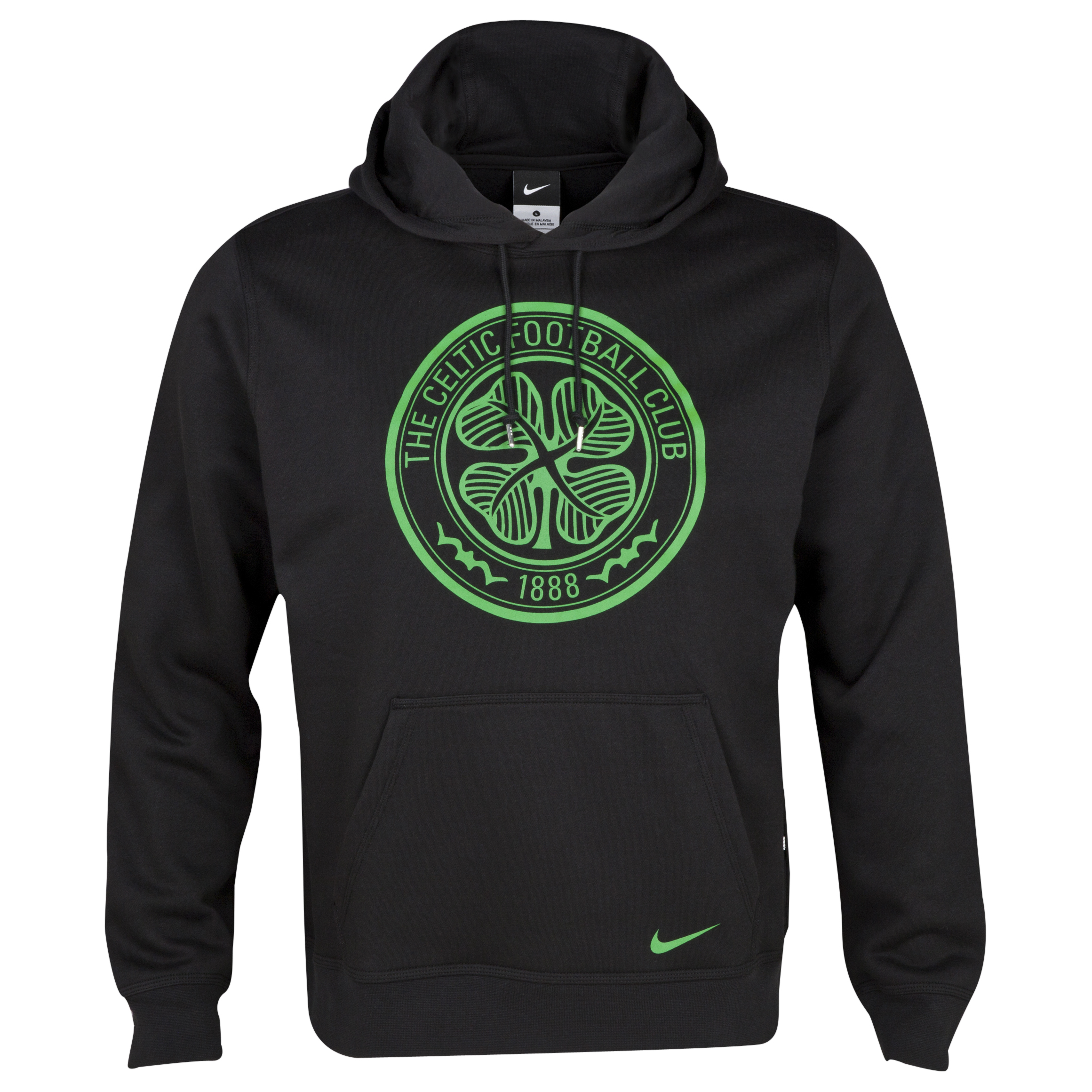 Celtic Core Hoody - Mens Black