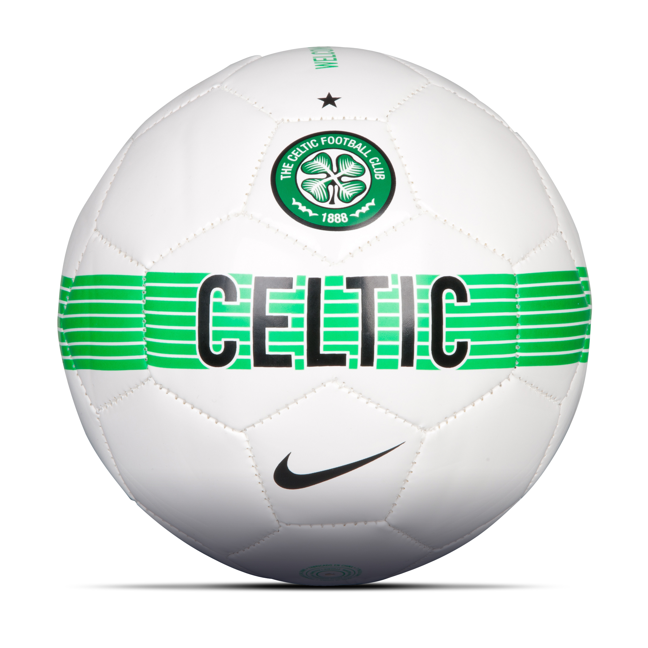 Celtic Skills Football White