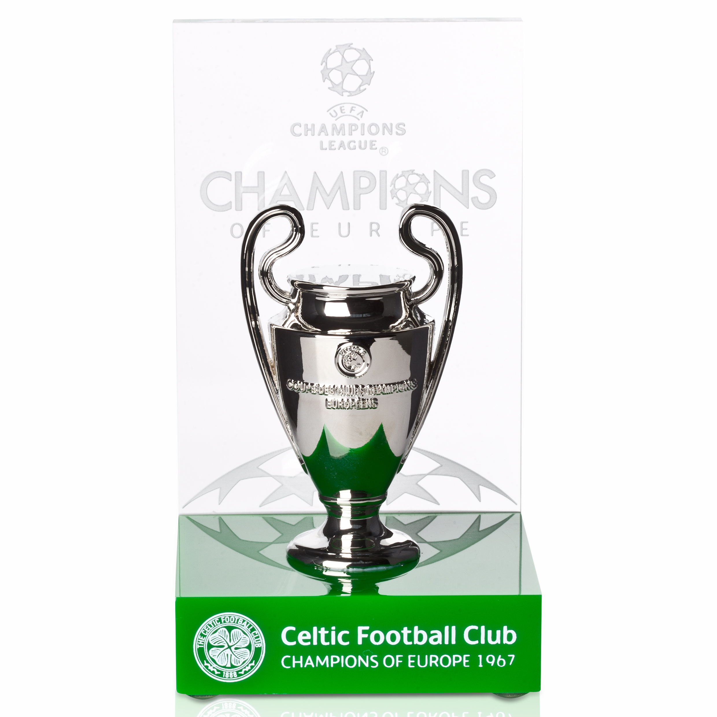 Celtic Uefa Champions League Past Winners Trophy