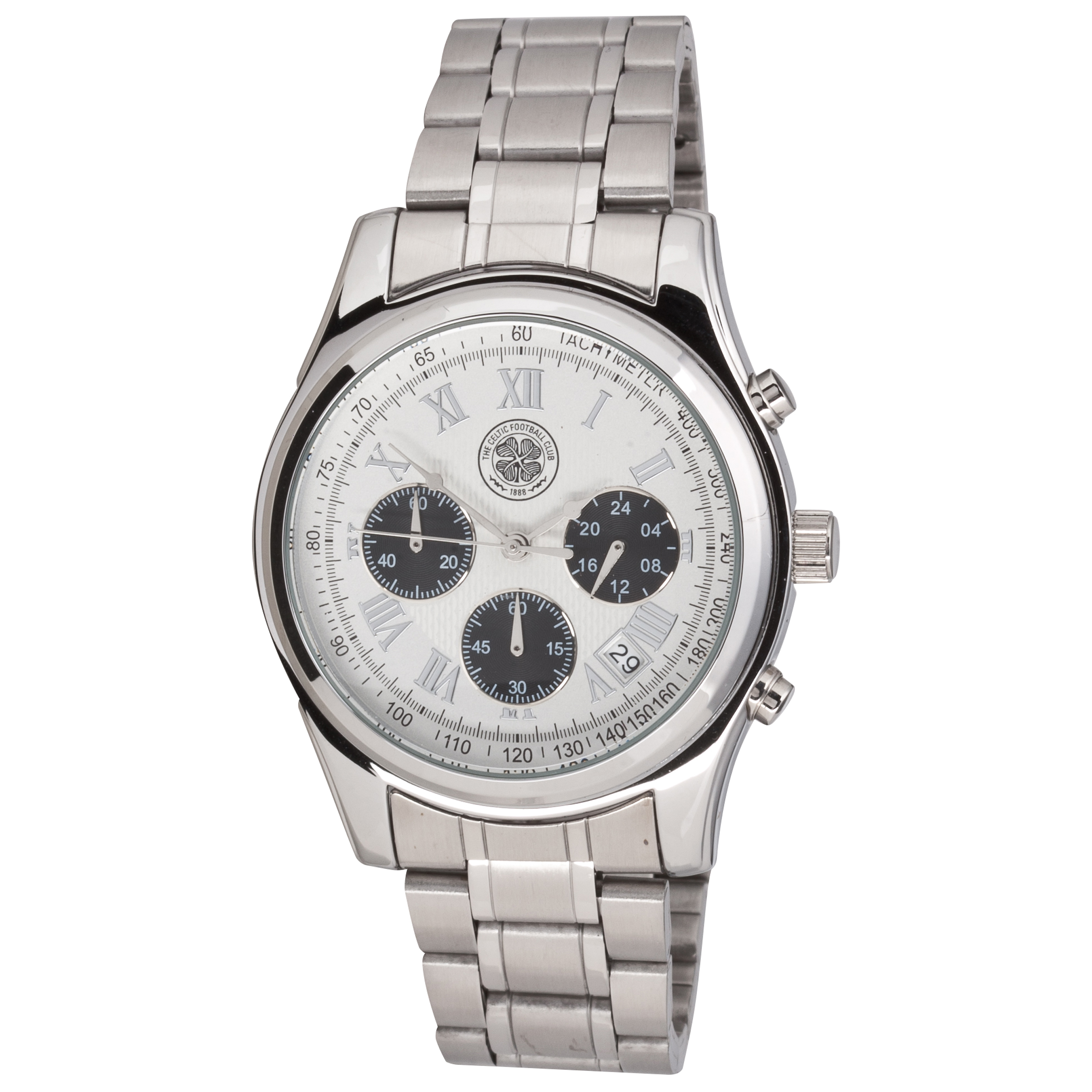 Celtic Chronograph Bracelet Watch