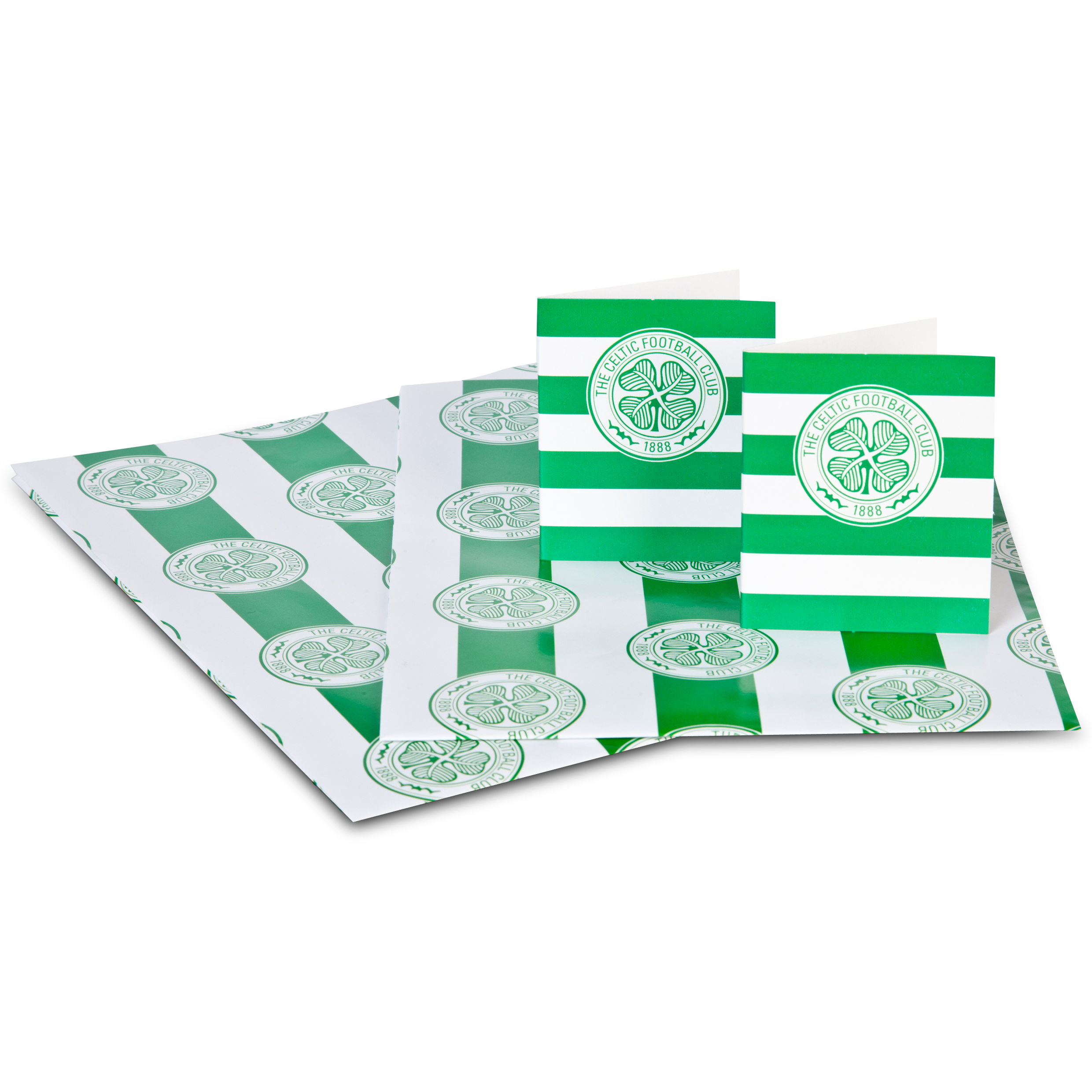 Celtic 2 x Hooped Gift Sheets and Tags