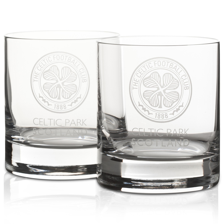 Celtic Crystal Whisky Glasses Set