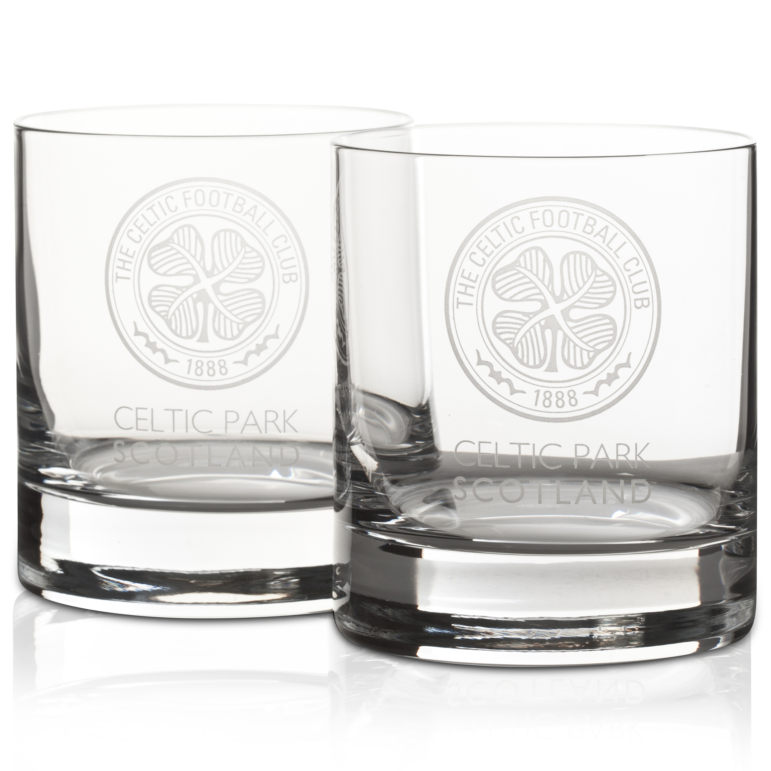 Celtic Crystal Whisky Glasses Set