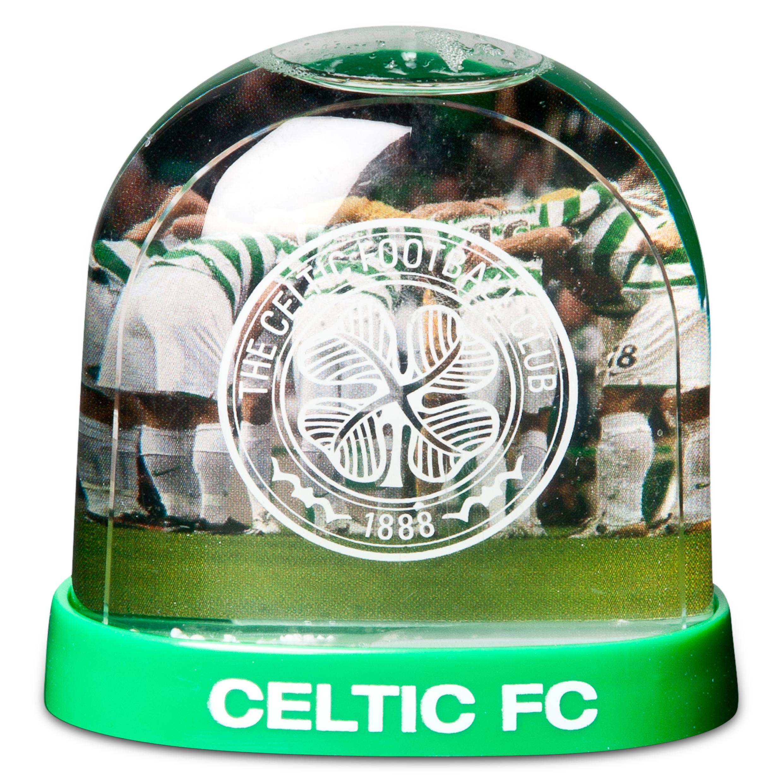 Celtic Christmas Snow Globe