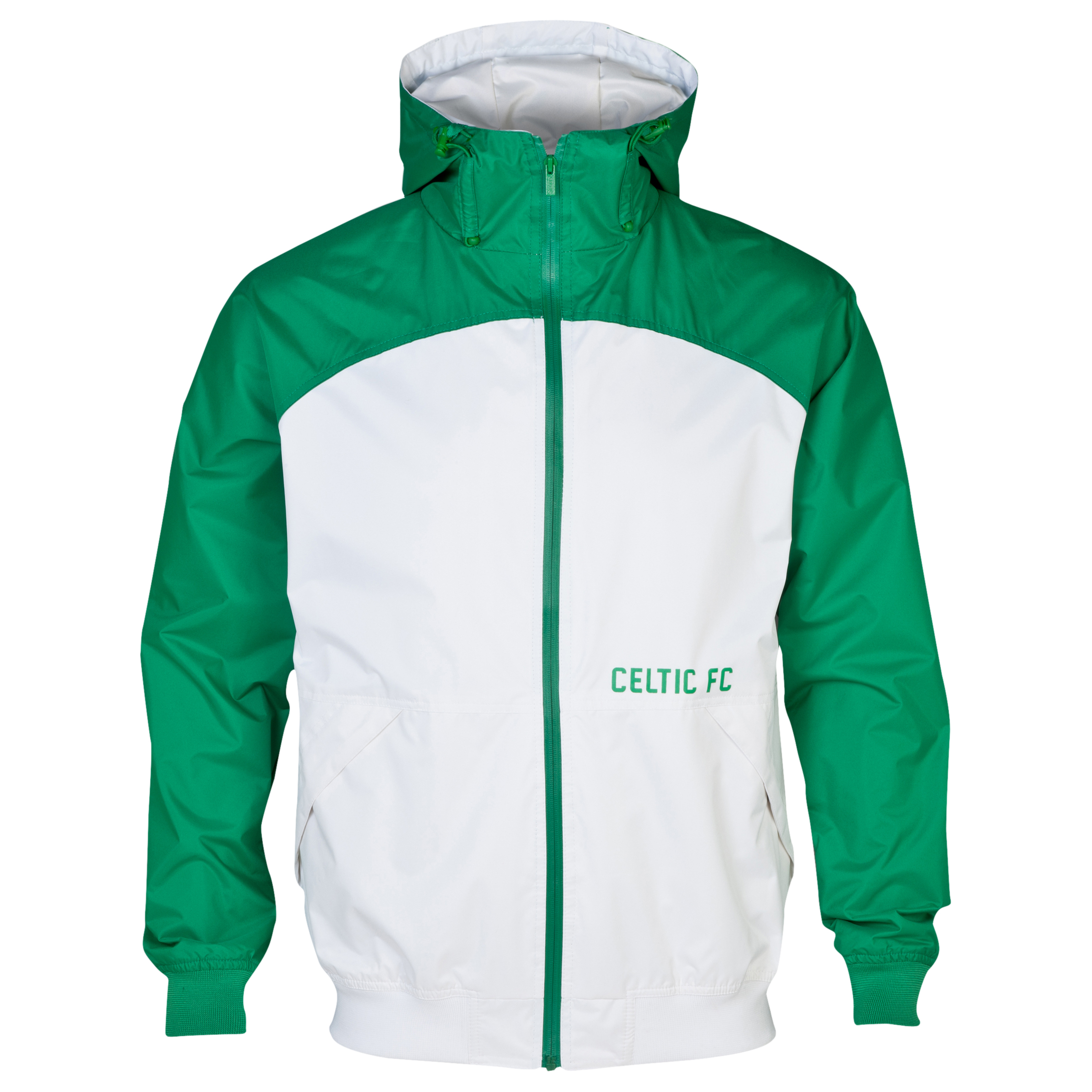 Celtic Essentials Shower Jacket - Mens Green
