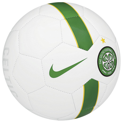 Celtic Supporters Football White