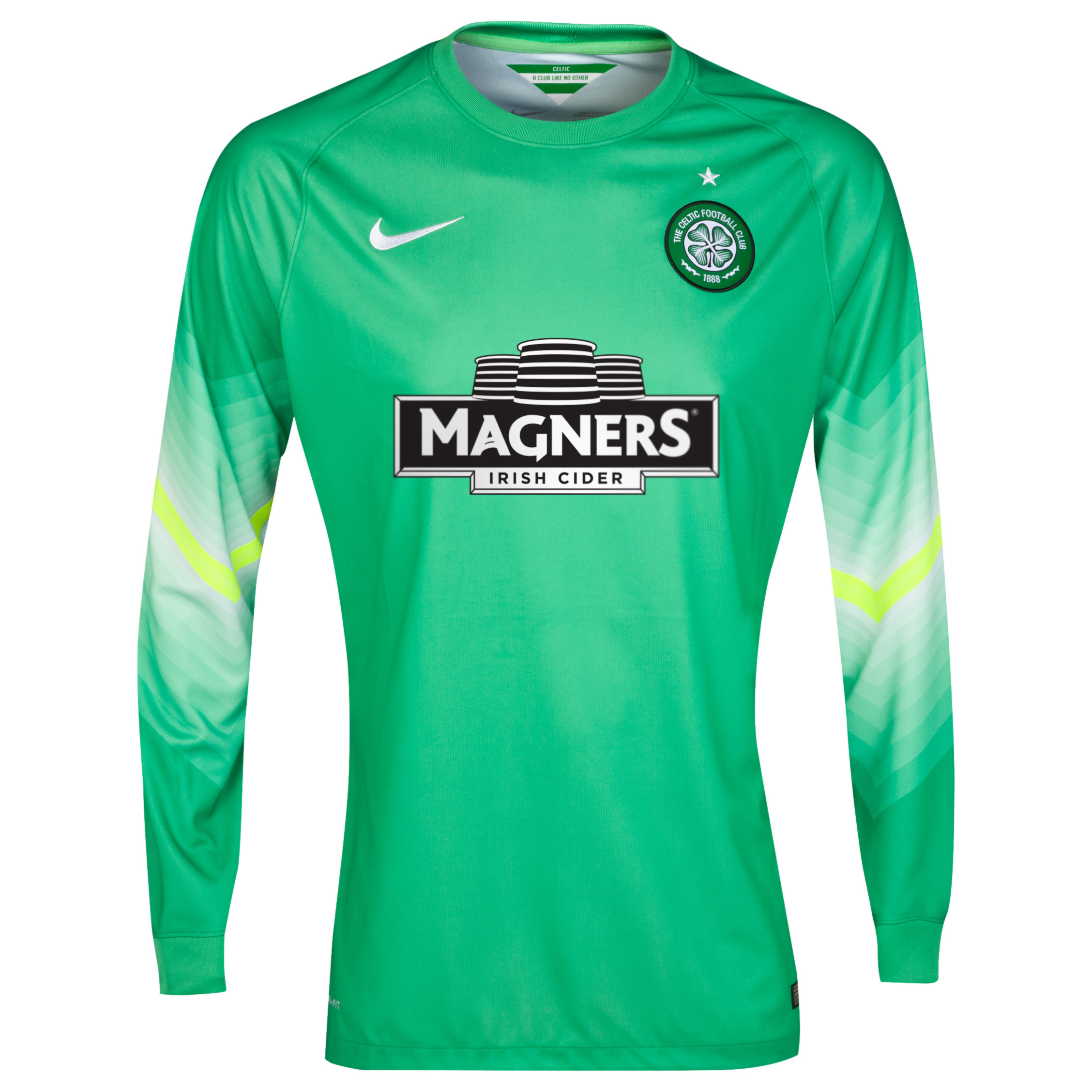 Celtic Change Goalkeeper Shirt 2014/15 Green