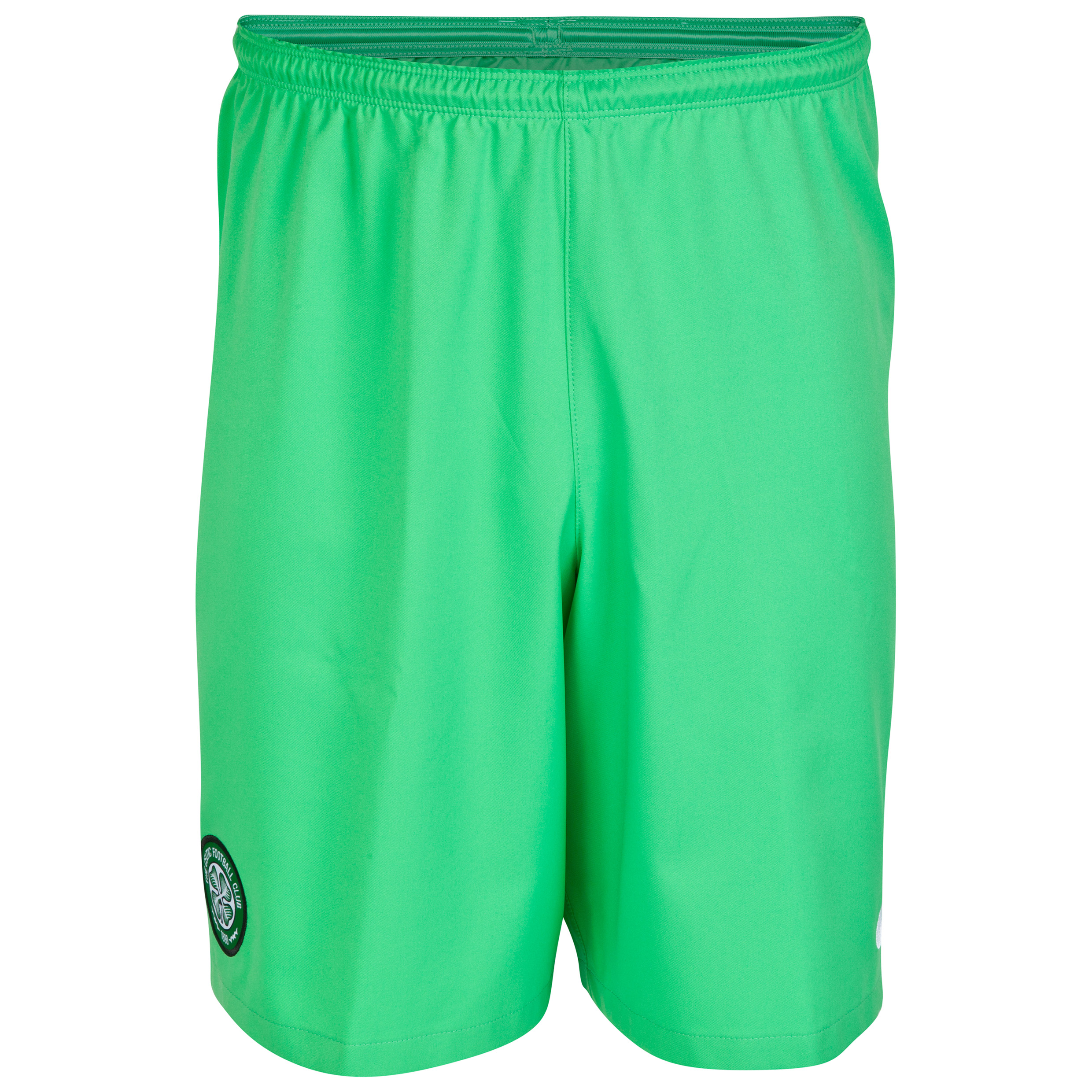 Celtic Change Goalkeeper Shorts 2014/15 - Kids Green