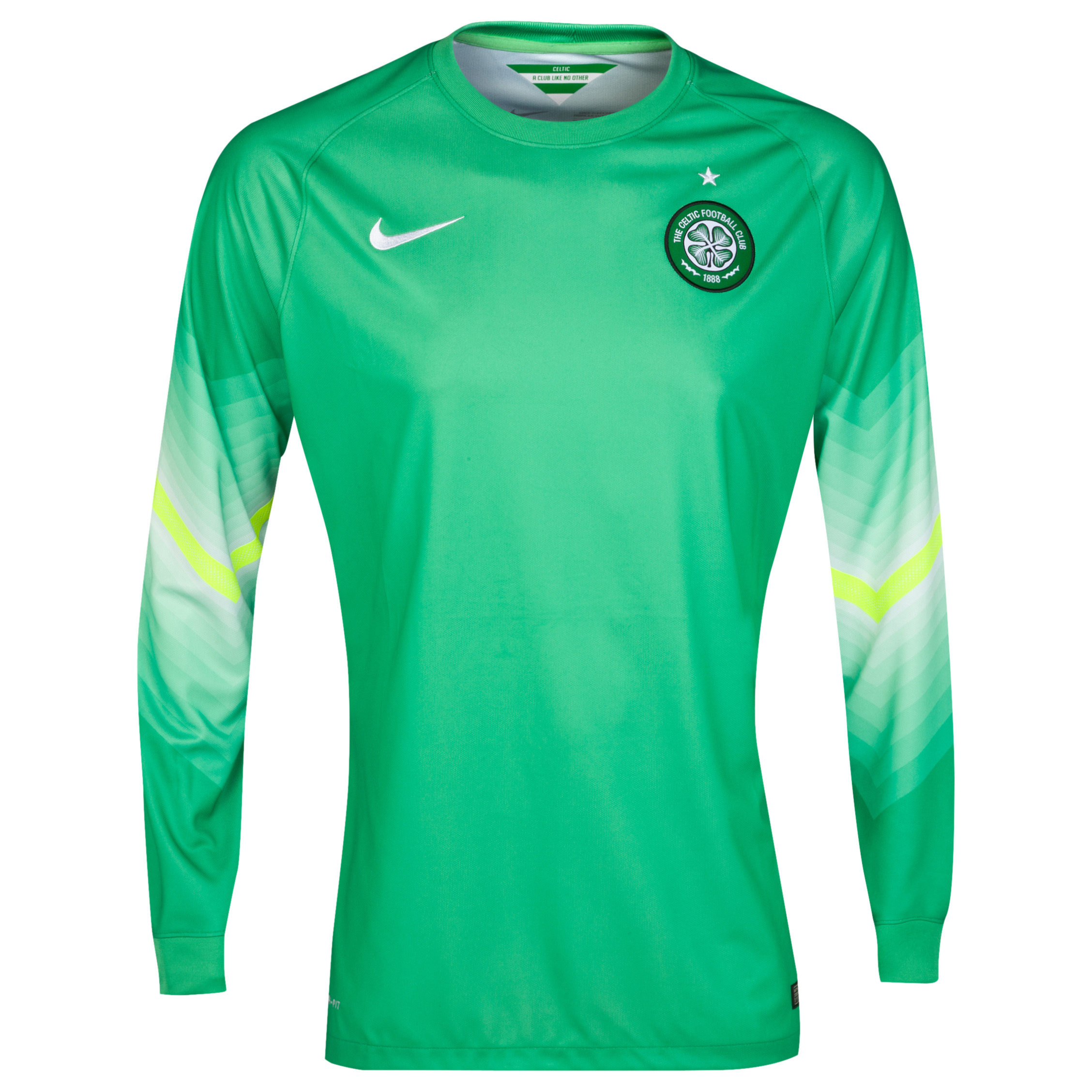 Celtic Change Goalkeeper Shirt 2014/15 - Kids Green