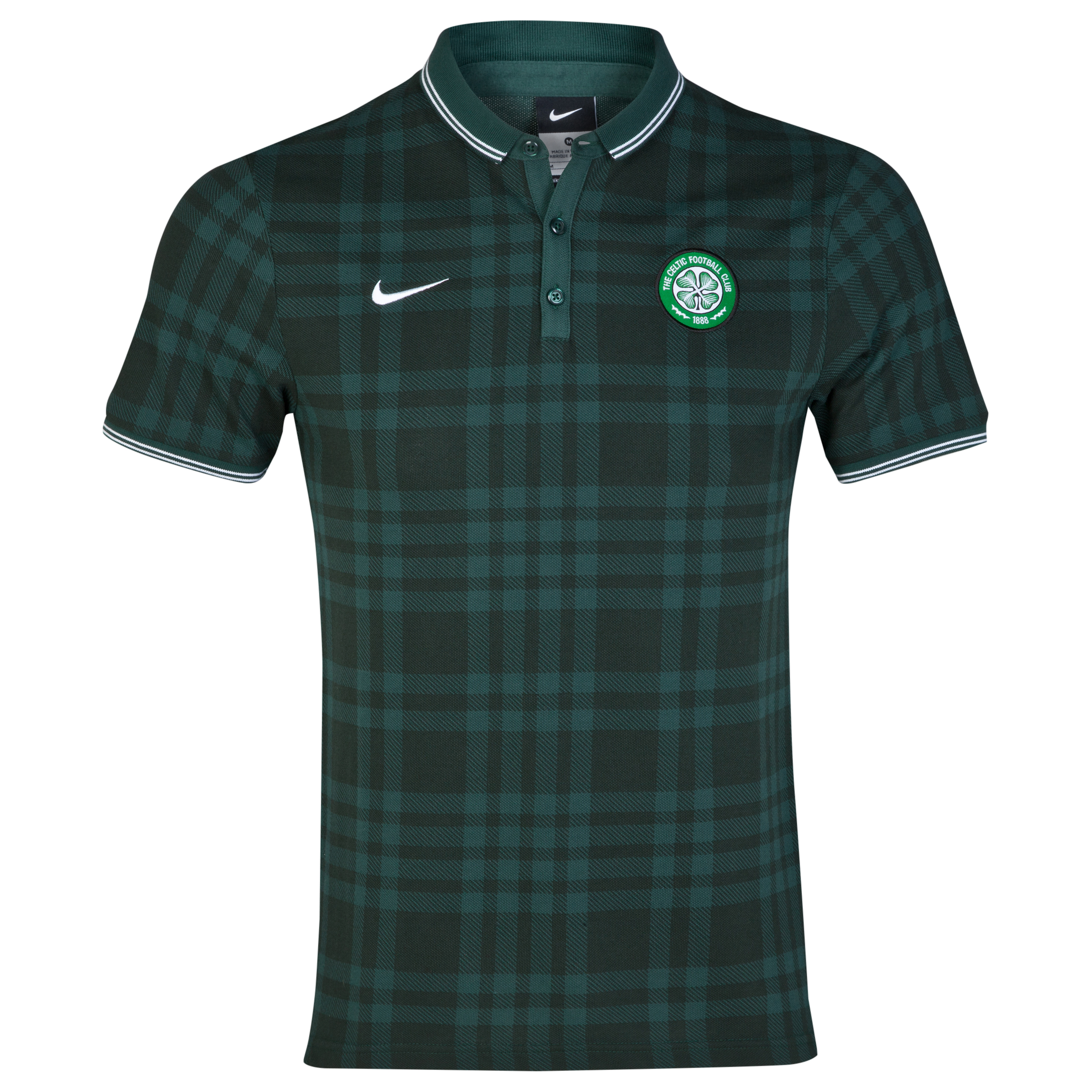 Celtic League Authentic Polo Green