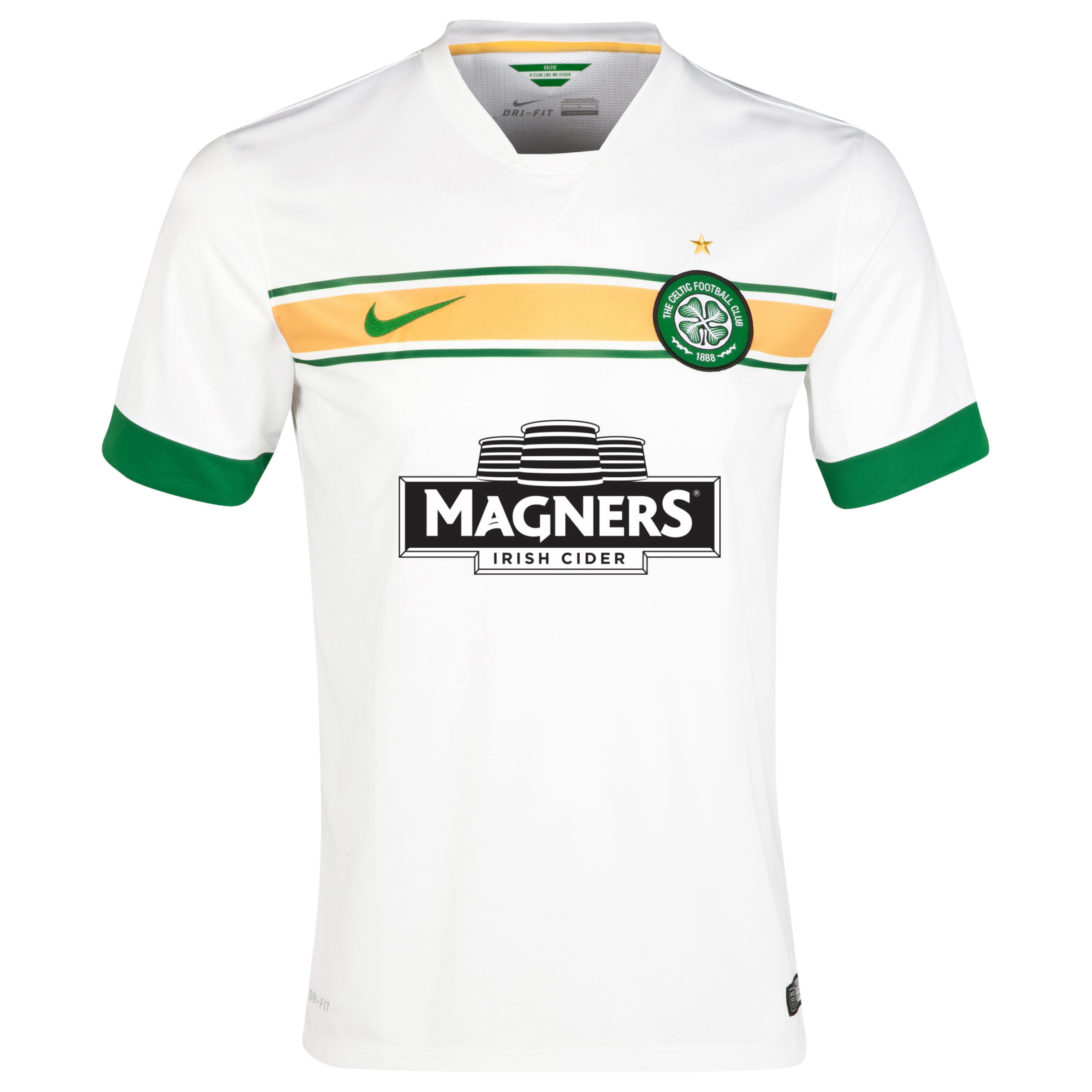 Celtic 3rd Shirt 2014/15 - With Sponsor White