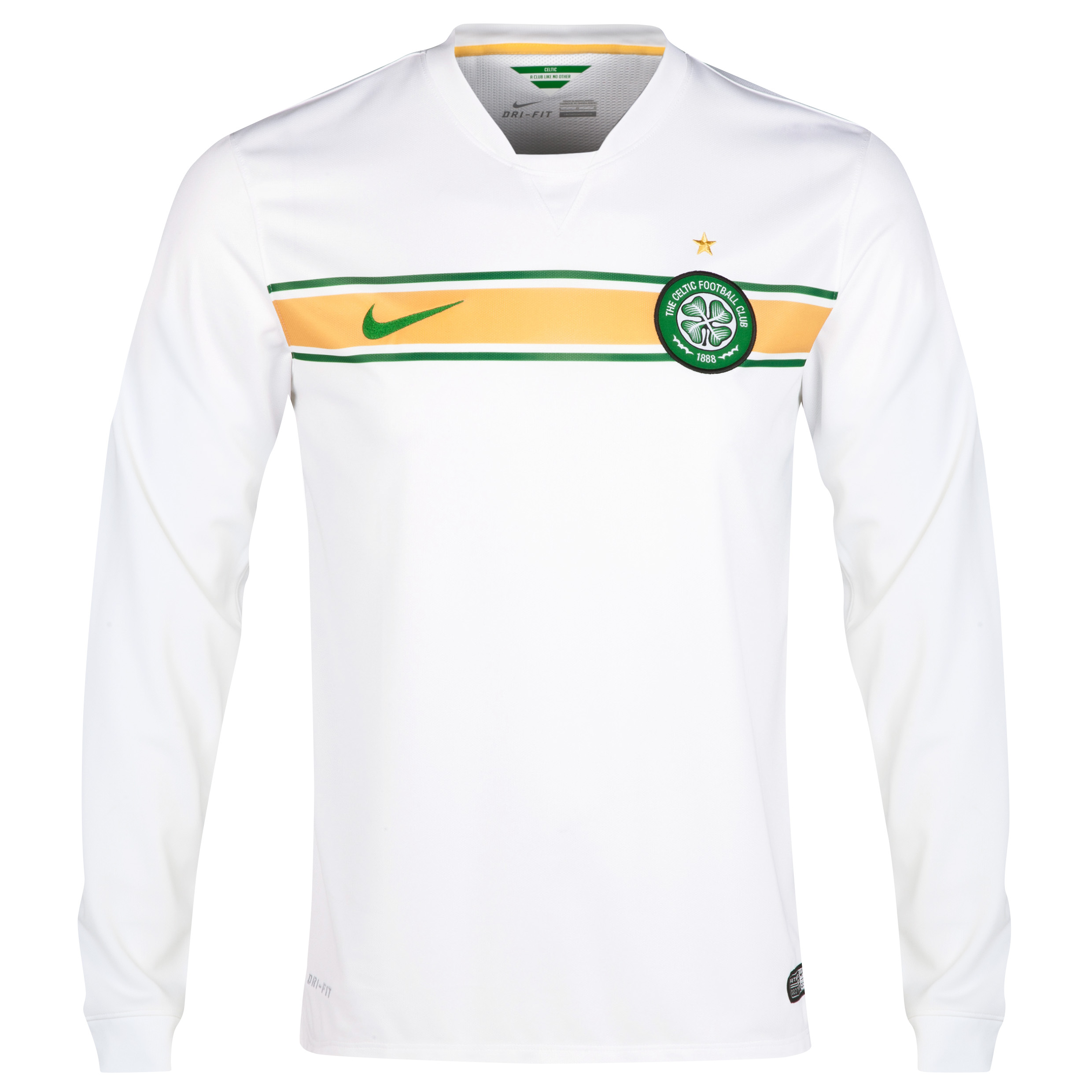 Celtic 3rd Shirt 2014/15 - Long Sleeved - Unsponsored White