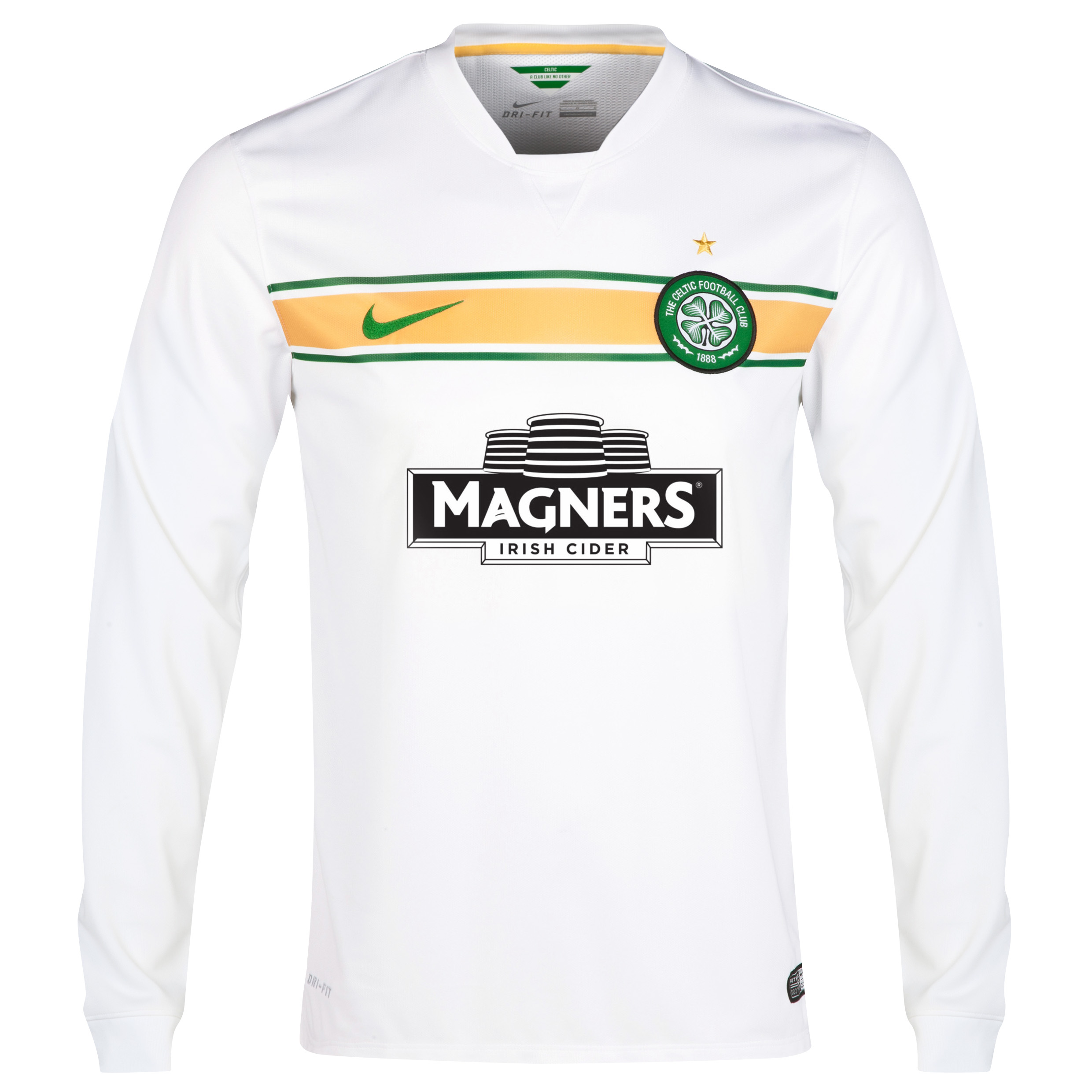 Celtic 3rd Shirt 2014/15 - Long Sleeved - With Sponsor White