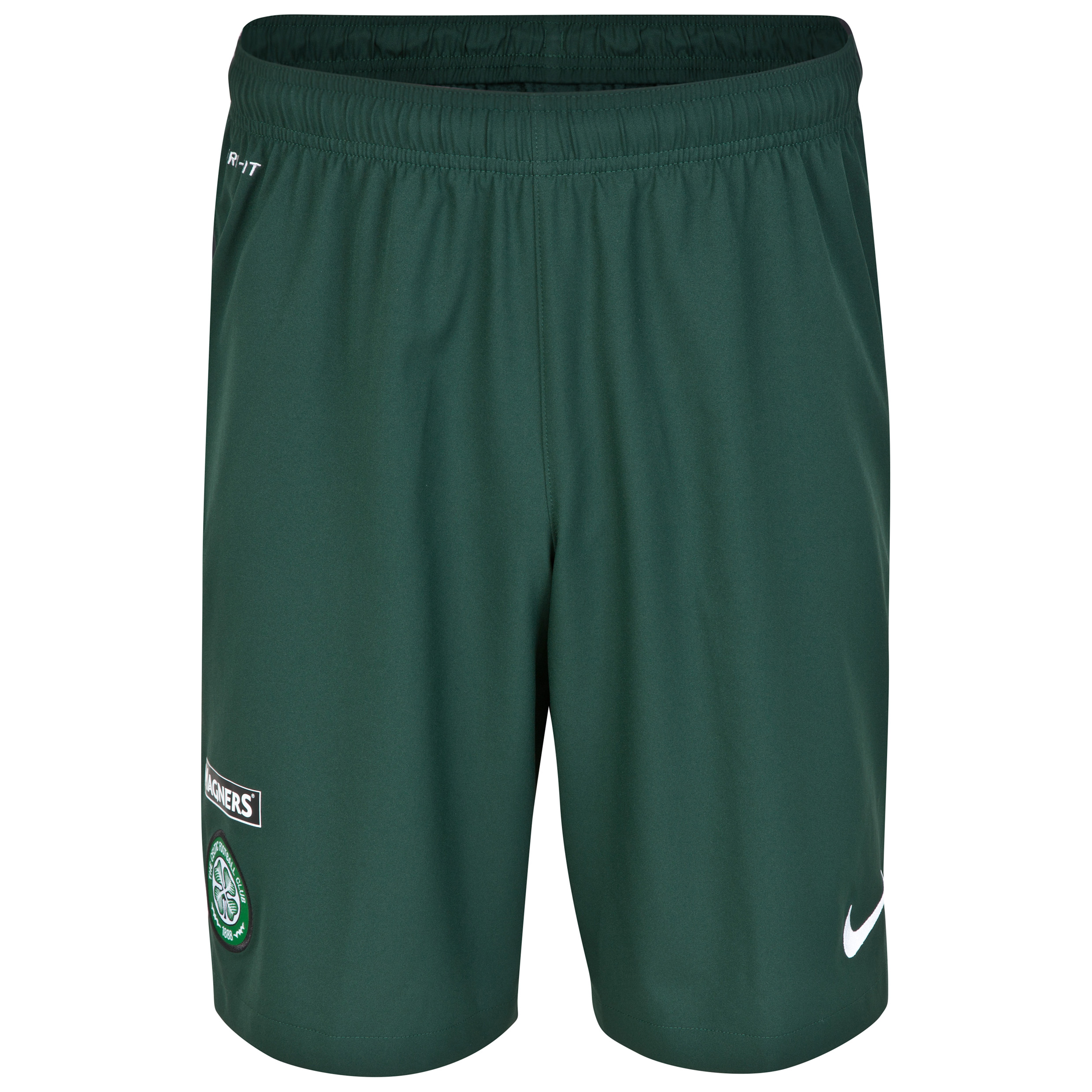 Celtic Away Short 2014/15 Green