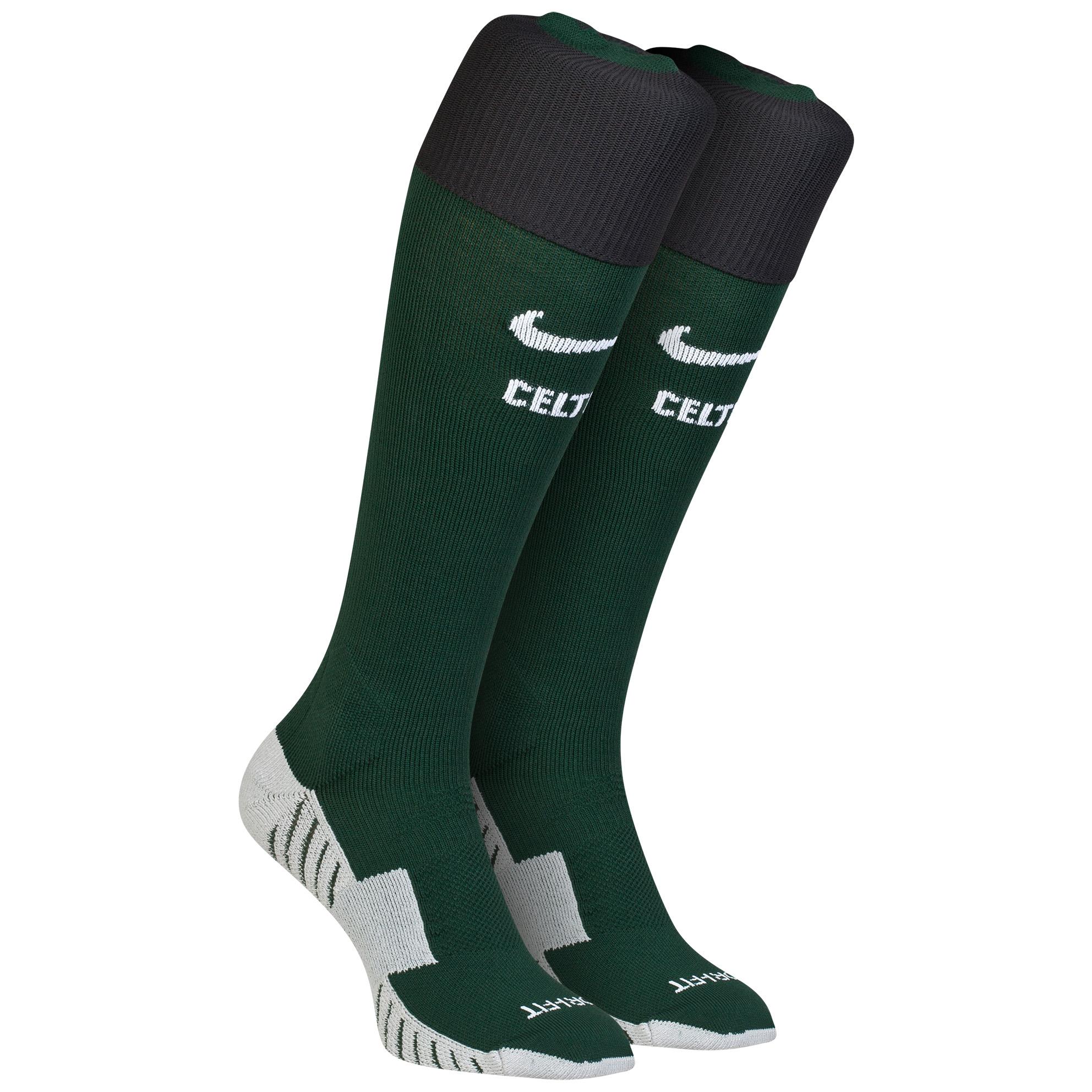 Celtic Away Socks 2014/15 Green