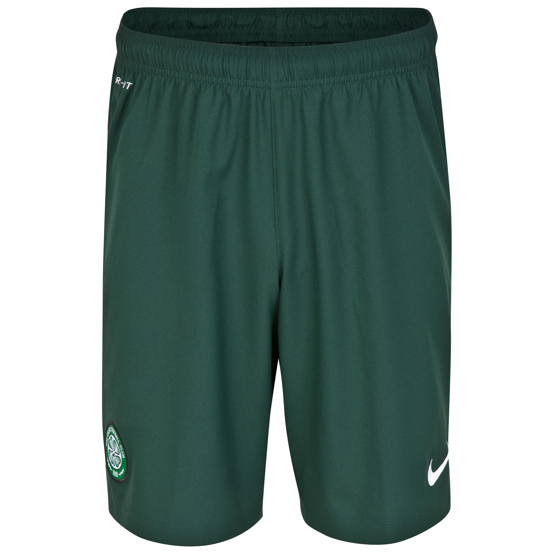Celtic Away Short 2014/15 - Kids Green