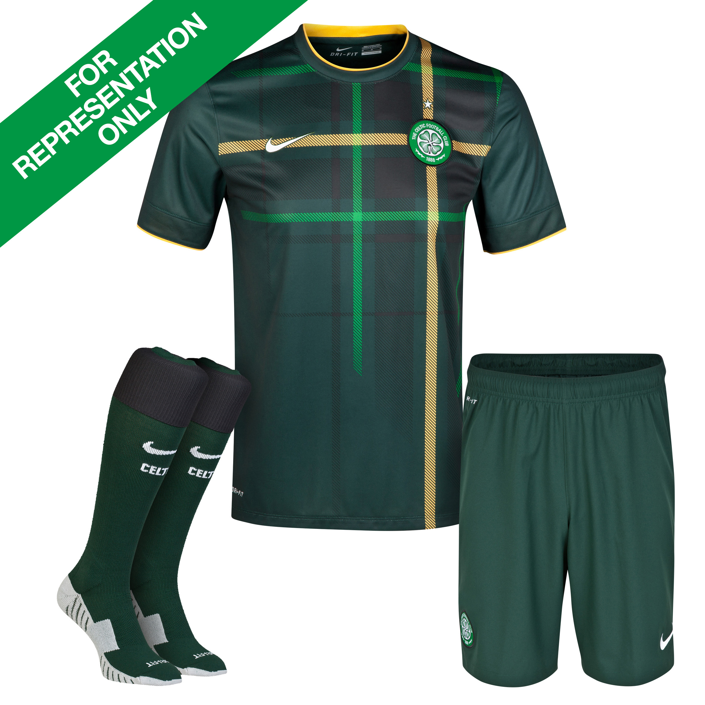 Celtic Away Kit 2014/15 - Little Boys Green