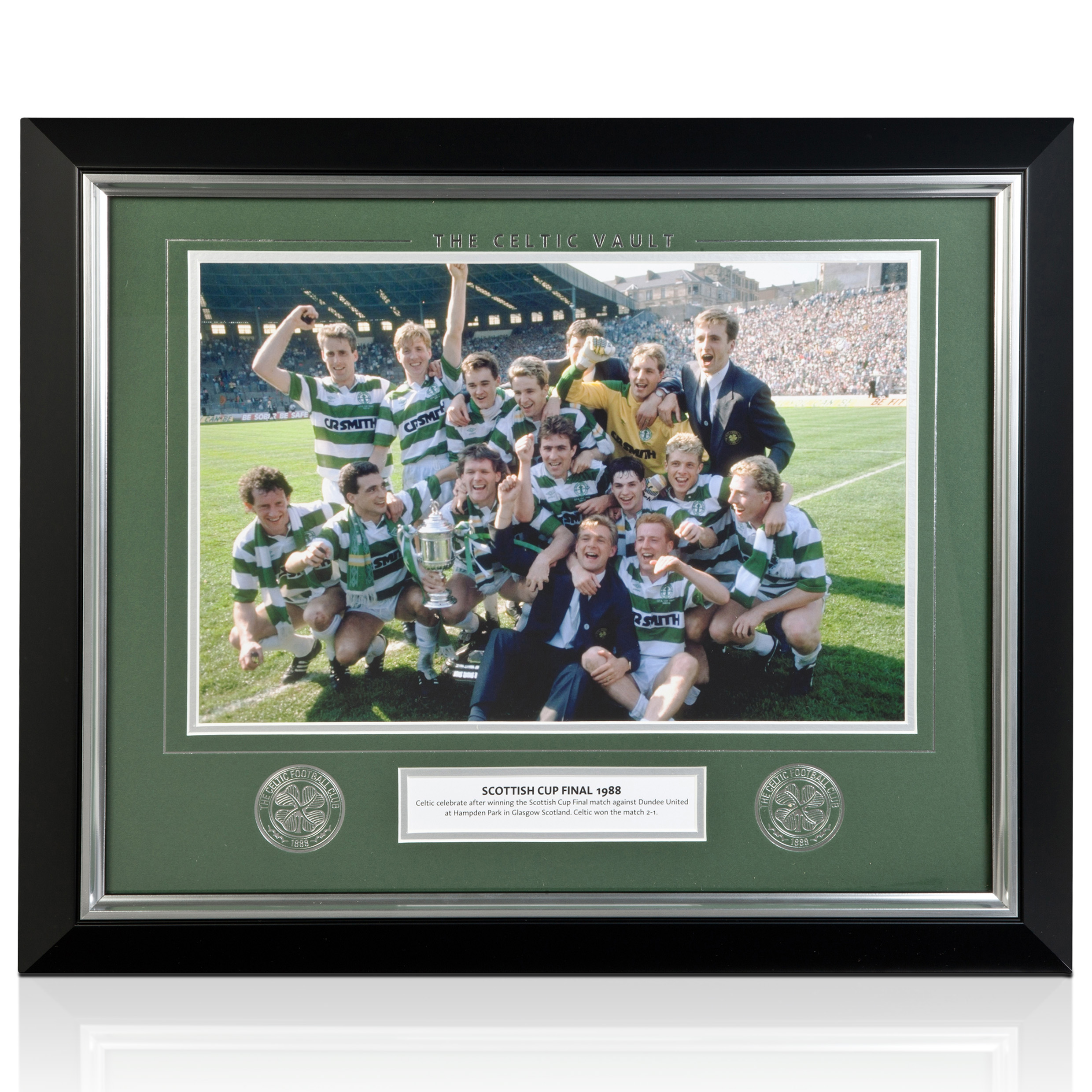 Celtic Vault - Scottish Cup 1988 Final - Framed
