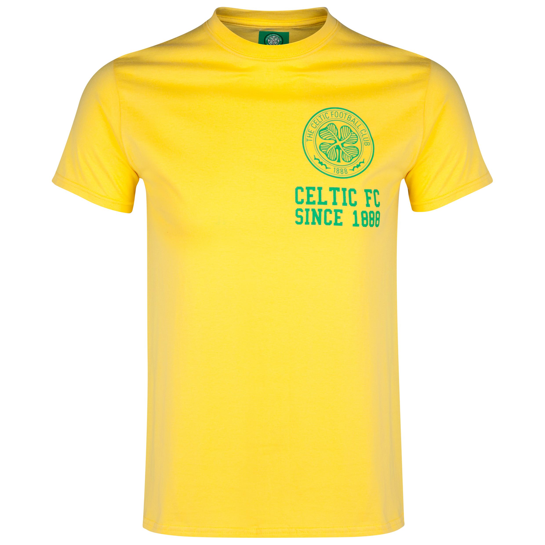Celtic Crest T-Shirt - Daisy Yellow - Mens