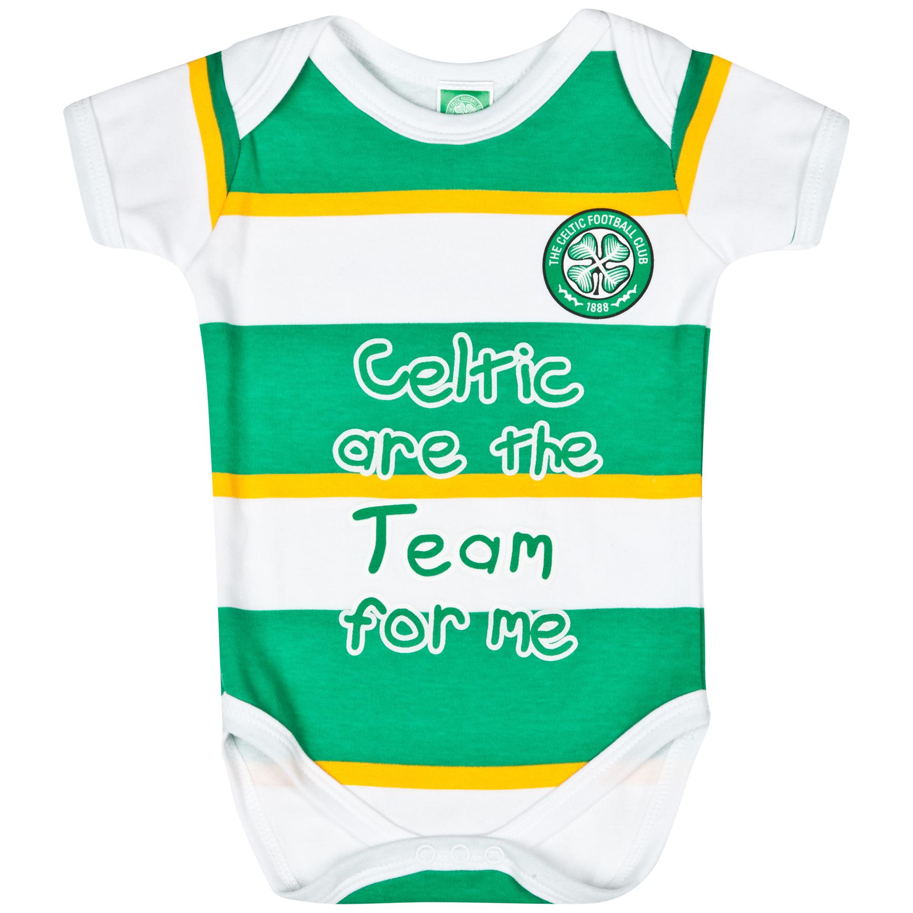 Celtic Bodysuit - Green/White/Gold - Baby Boys