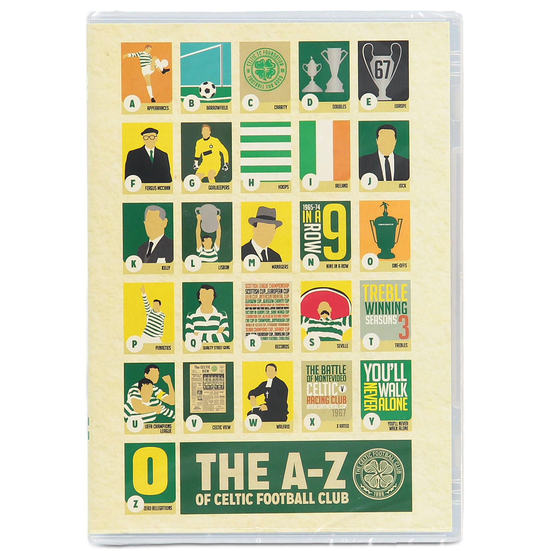 Celtic The A to Z of Celtic Football Club DVD