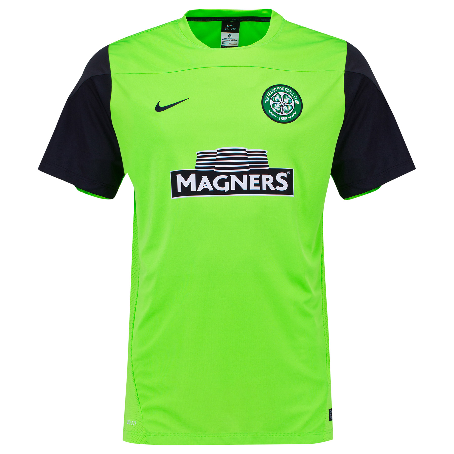 Celtic Training Top Lt Green