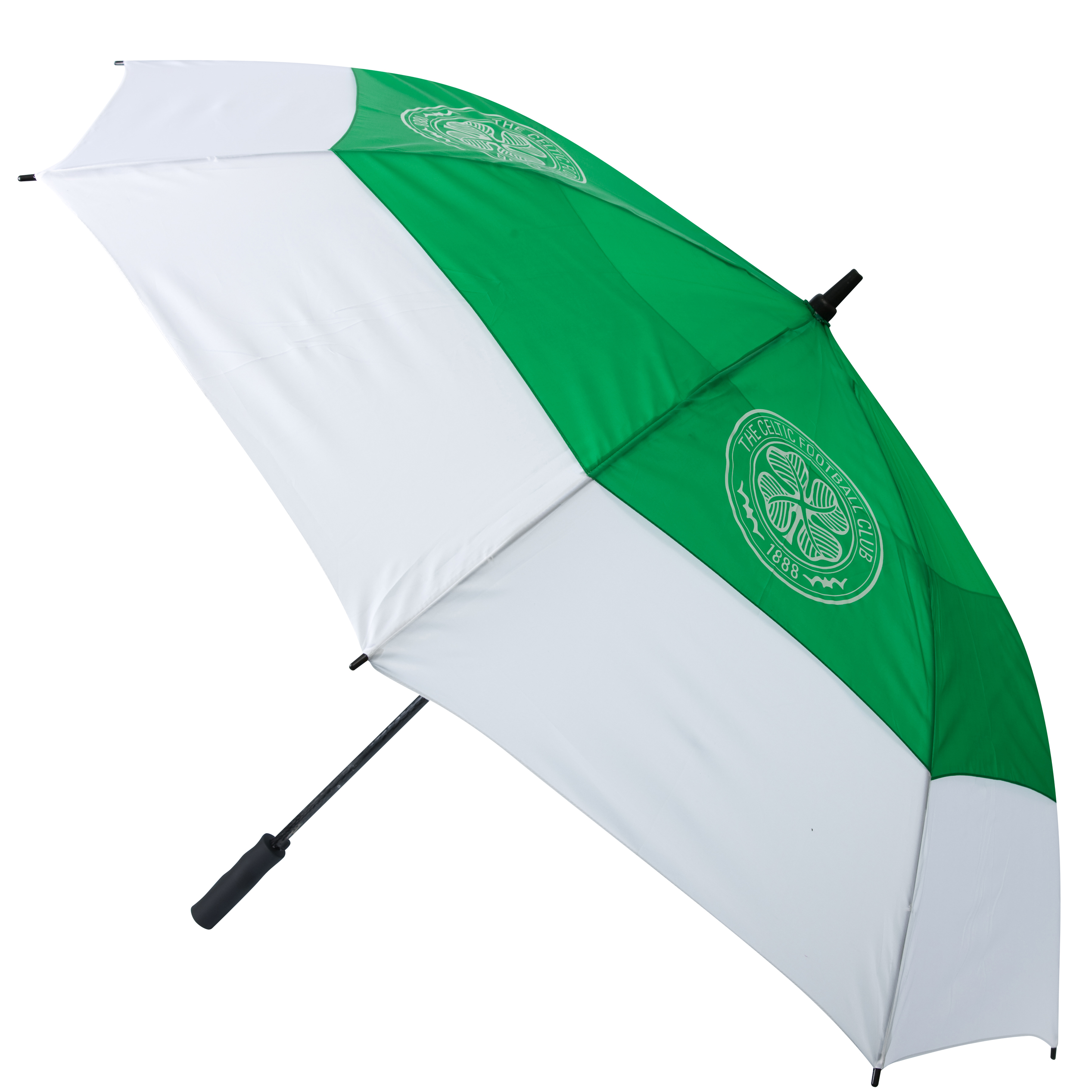 Celtic Golf Umbrella - Green/White