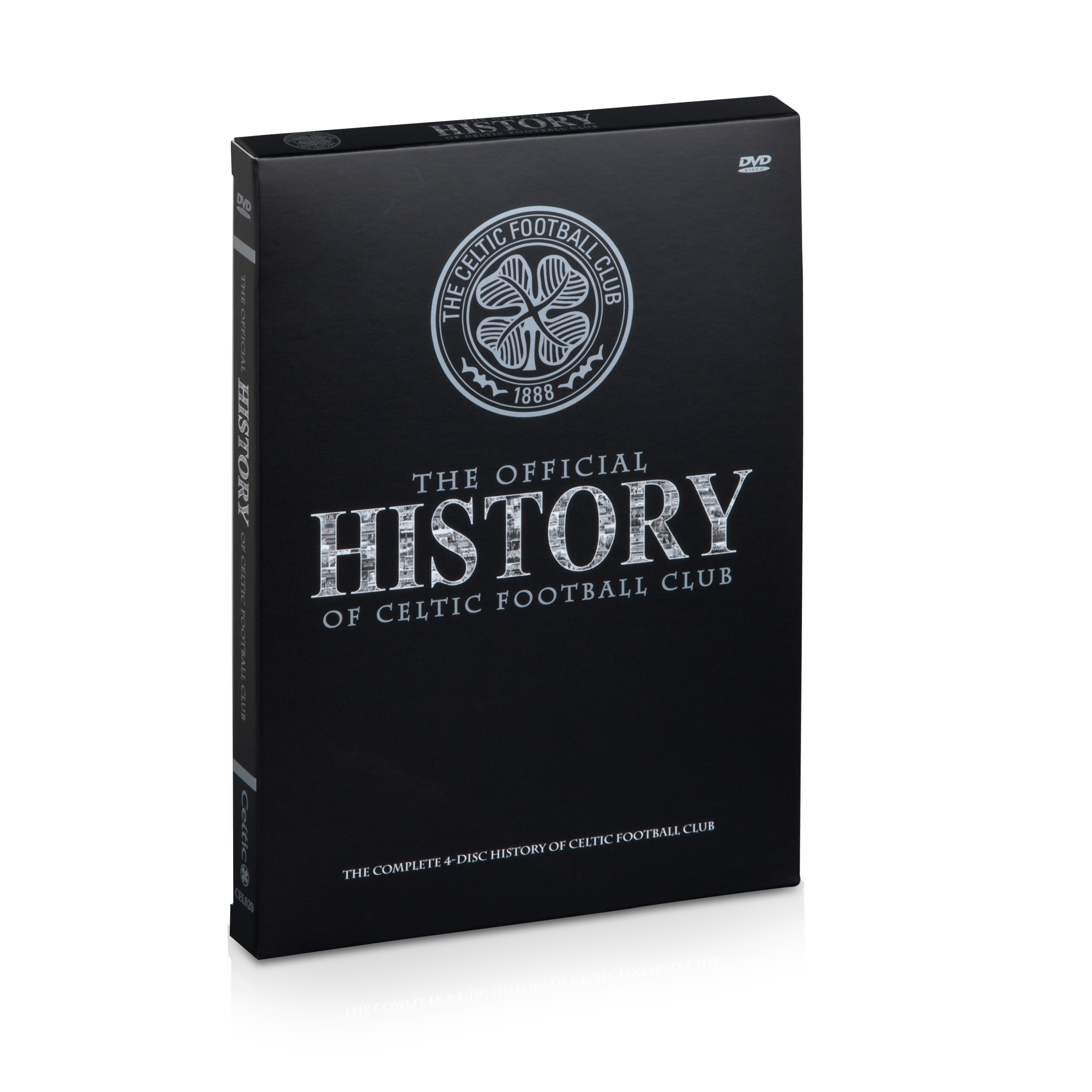 Celtic The Official History 4 Disc DVD