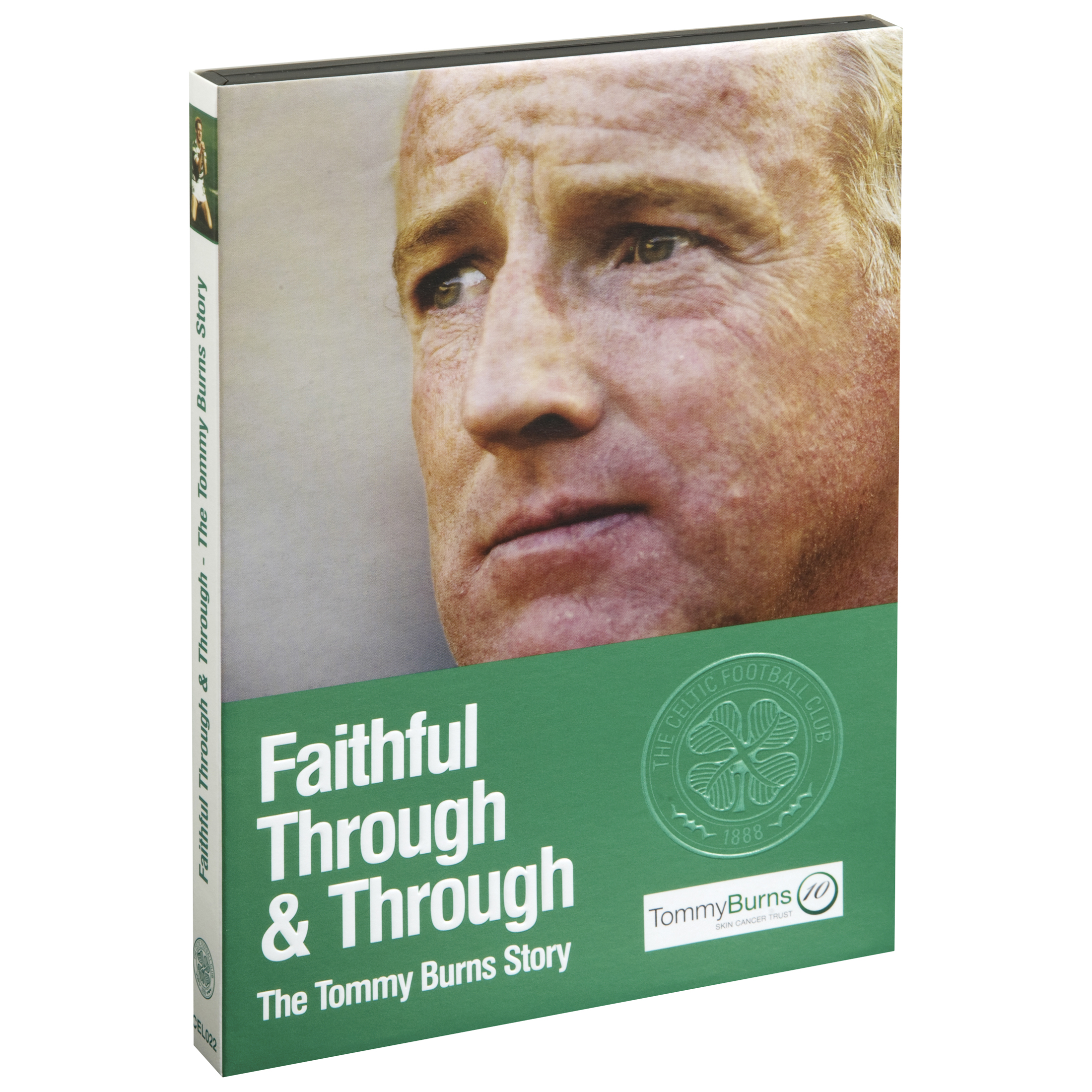 Celtic Faithful Through and Through - The Tommy Burns Story - 2 Disc DVD