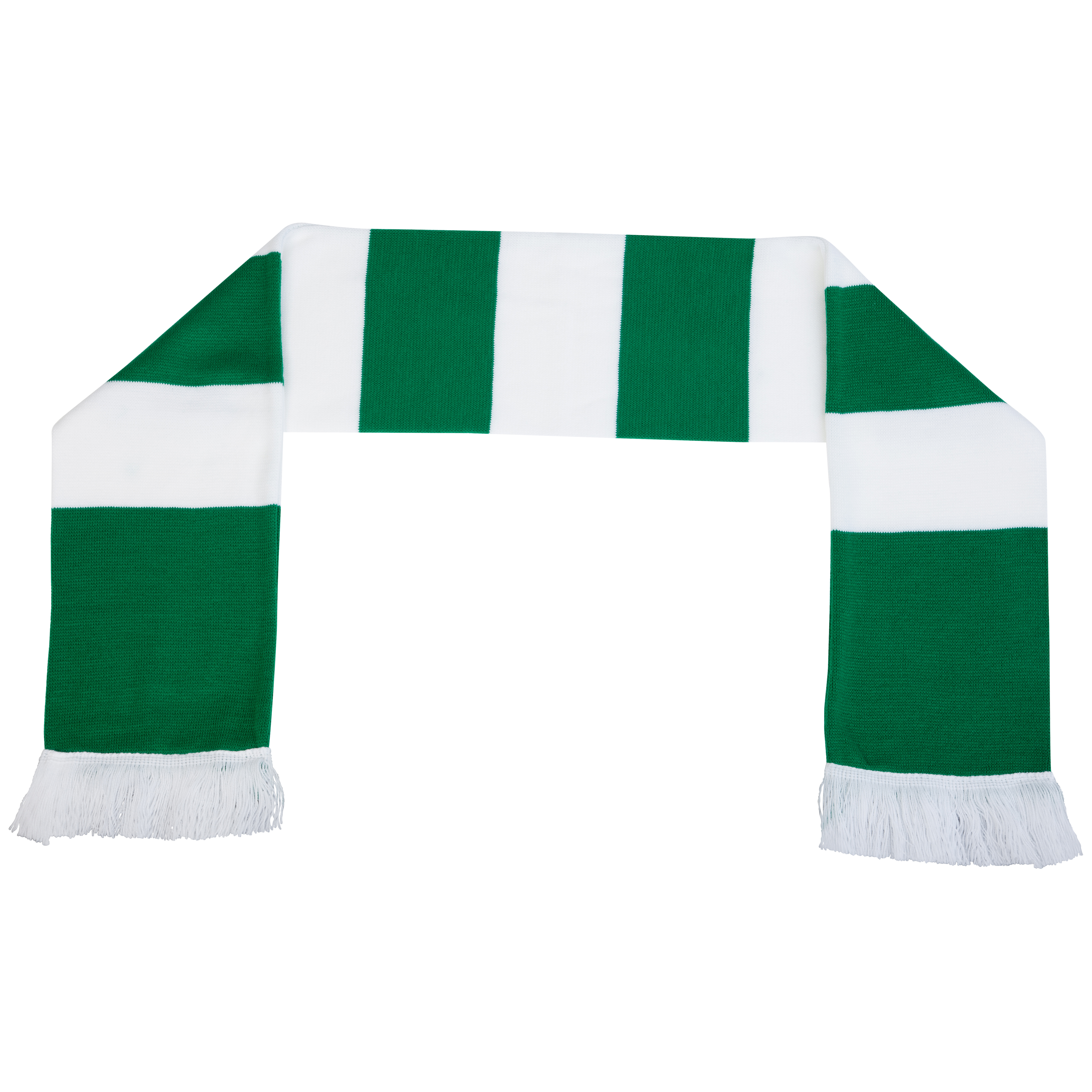 Celtic Bar Scarf - Green/White