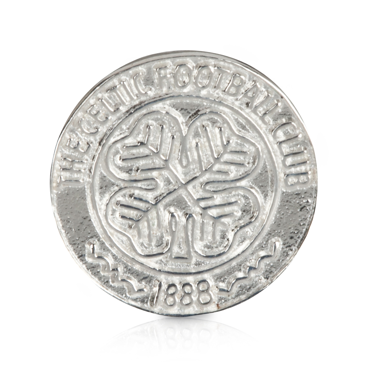 Celtic Crest Stud Earring - Sterling Silver