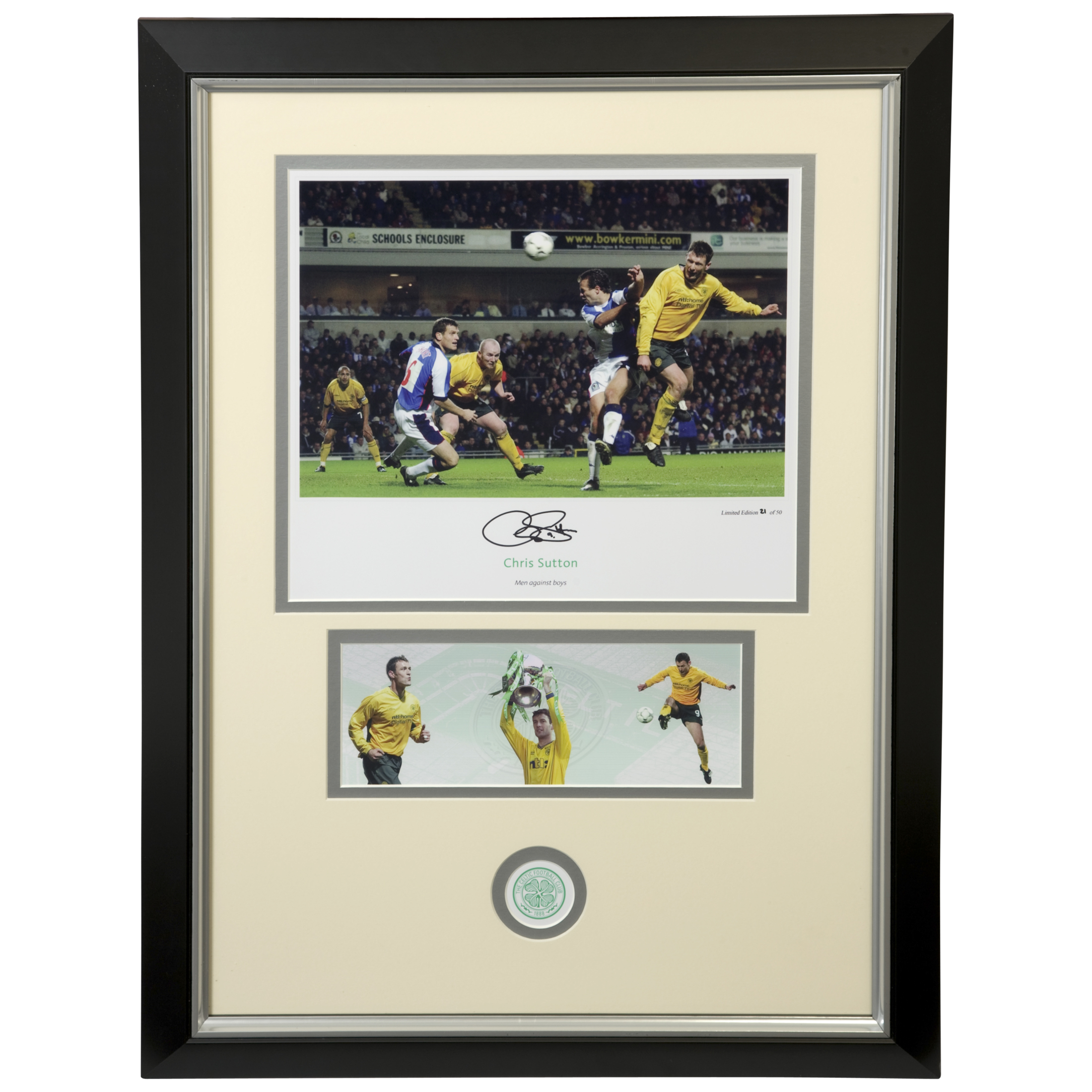 Limited Edition Hand Signed Celtic Sutton Blackburn Print