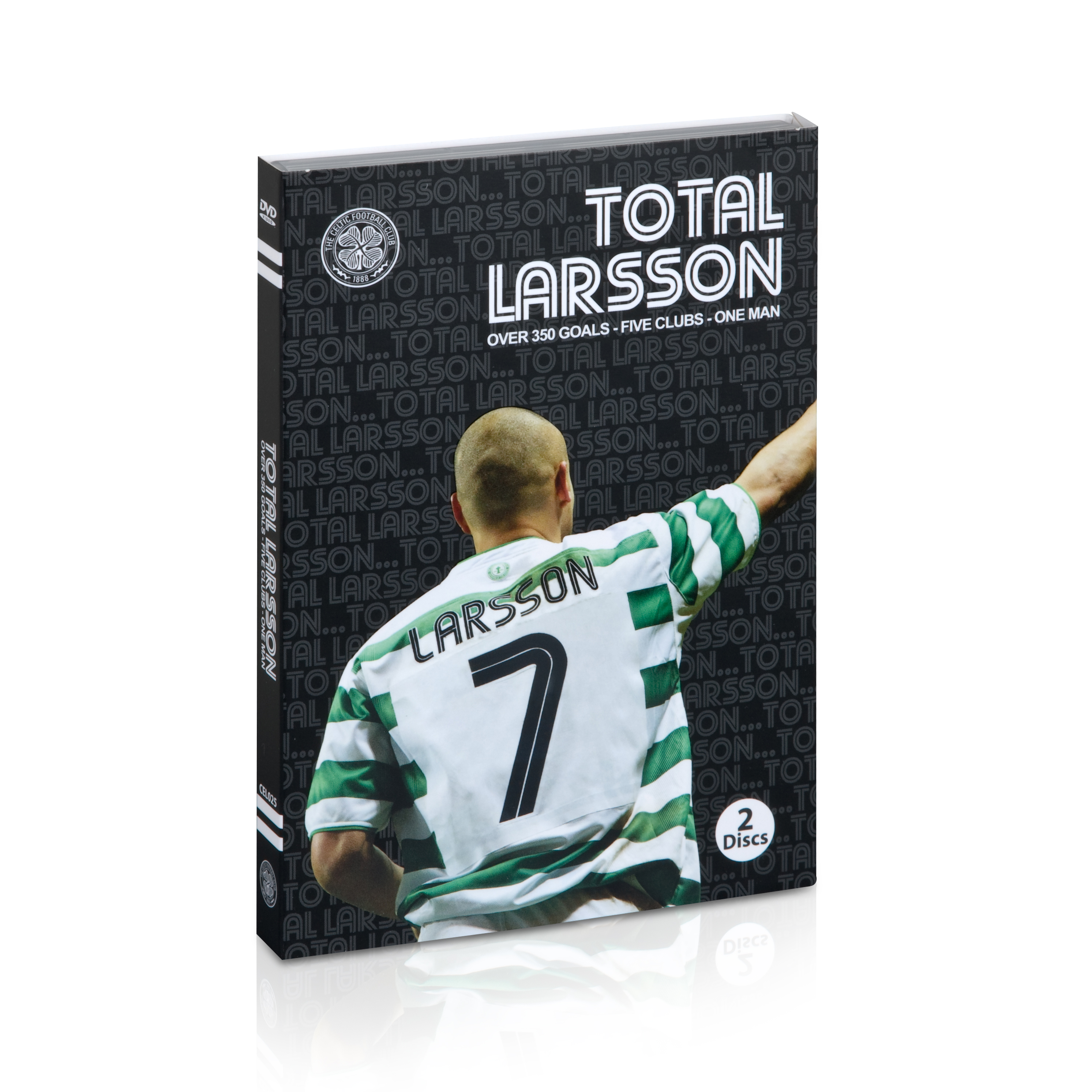 Celtic Total Larsson - The Definitive Henrik Larsson Collection - Two Disc DVD