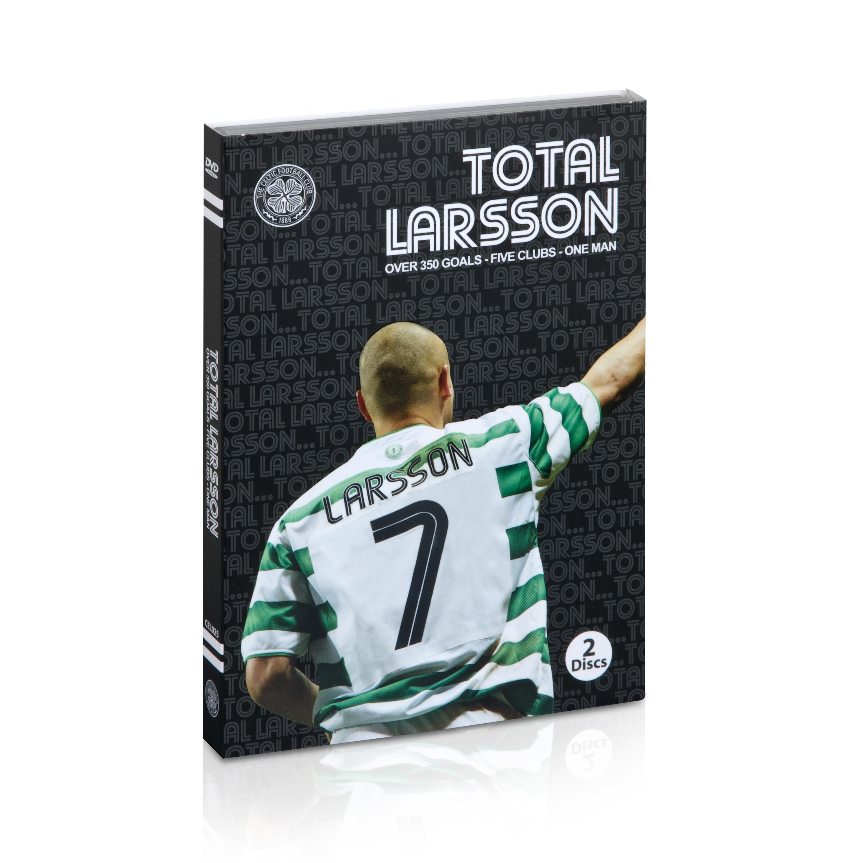 Celtic Total Larsson - The Definitive Henrik Larsson Collection - Two Disc DVD