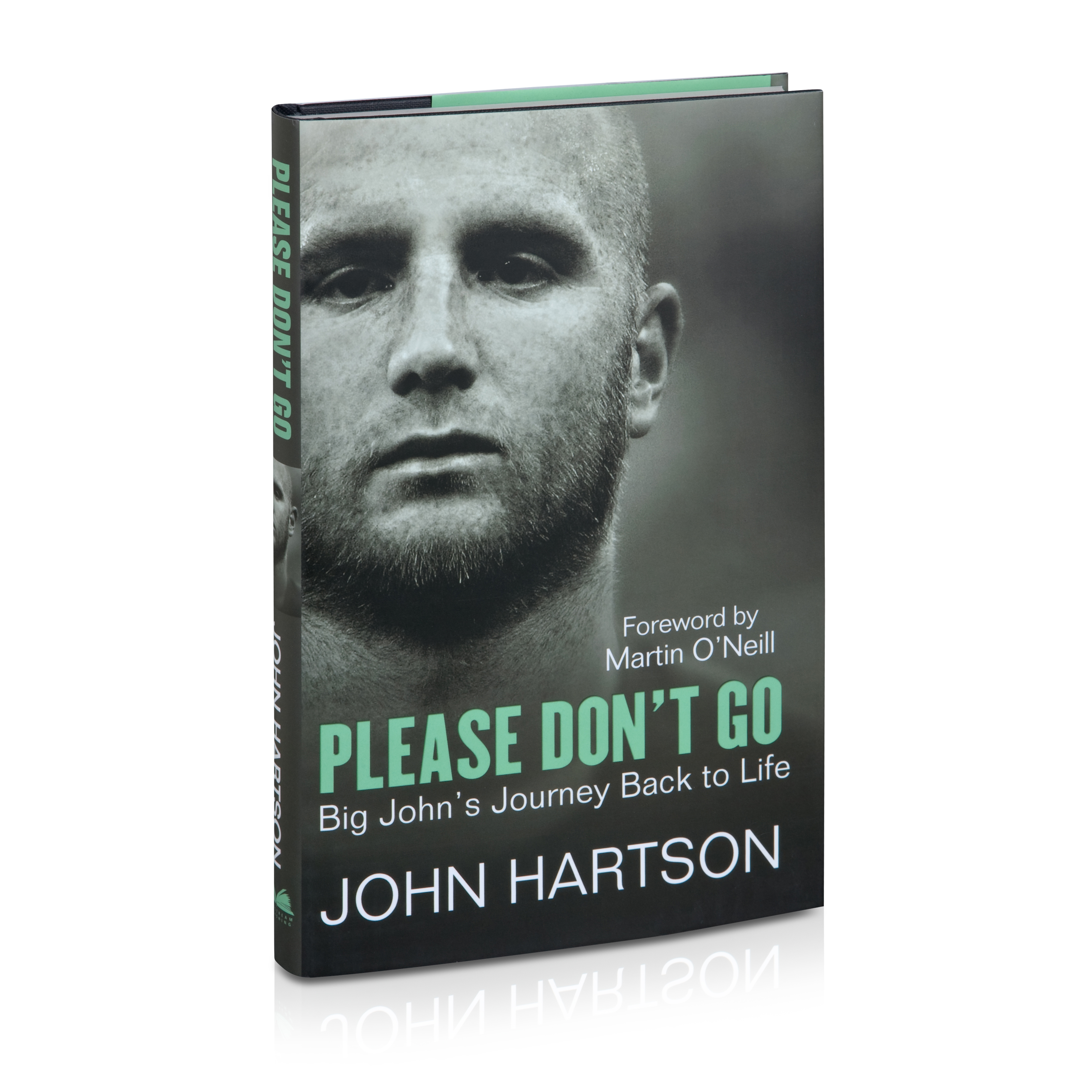 Celtic John Hartson - Please Dont Go Book - Hardback