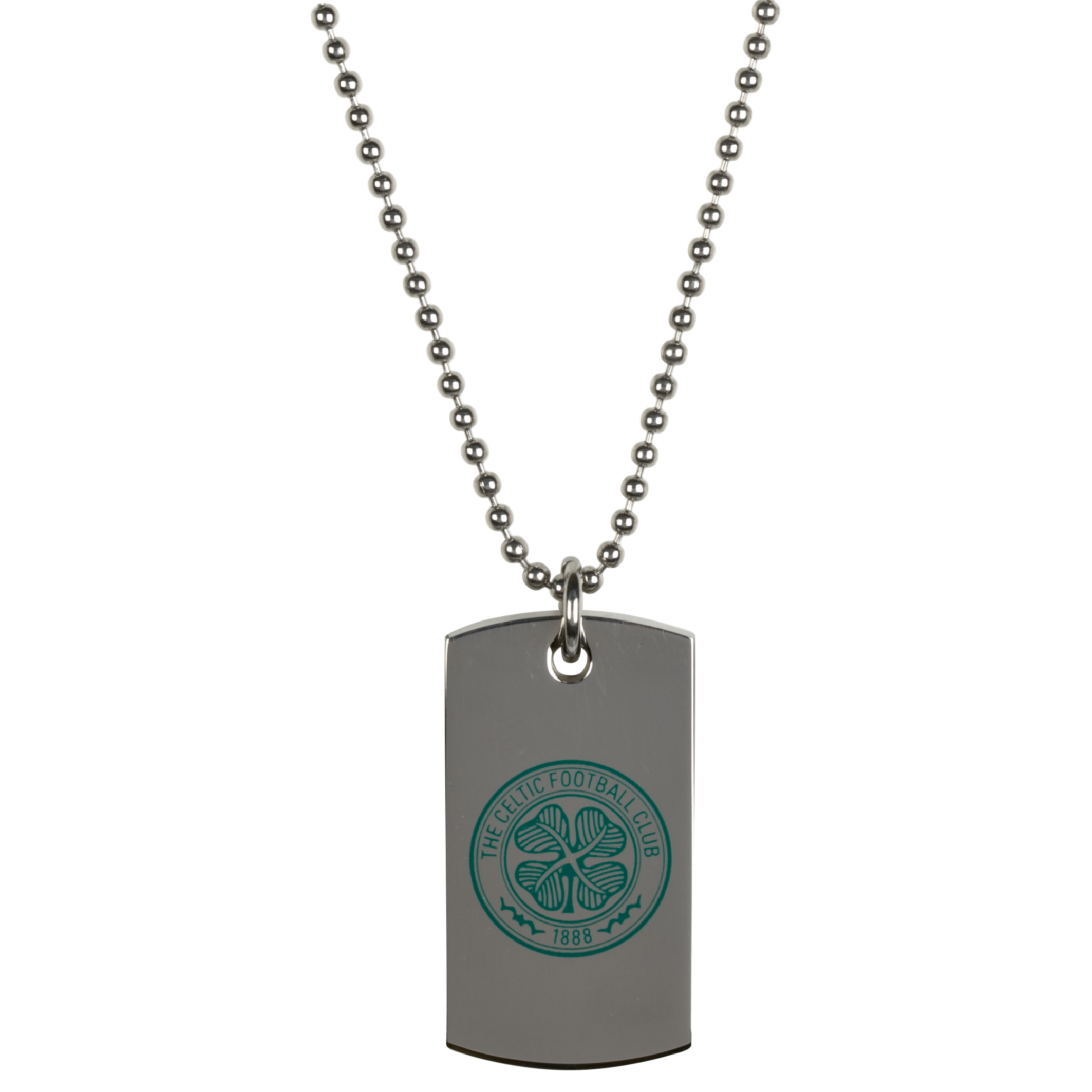 Celtic Coloured Dog Tag - Stainless Steel