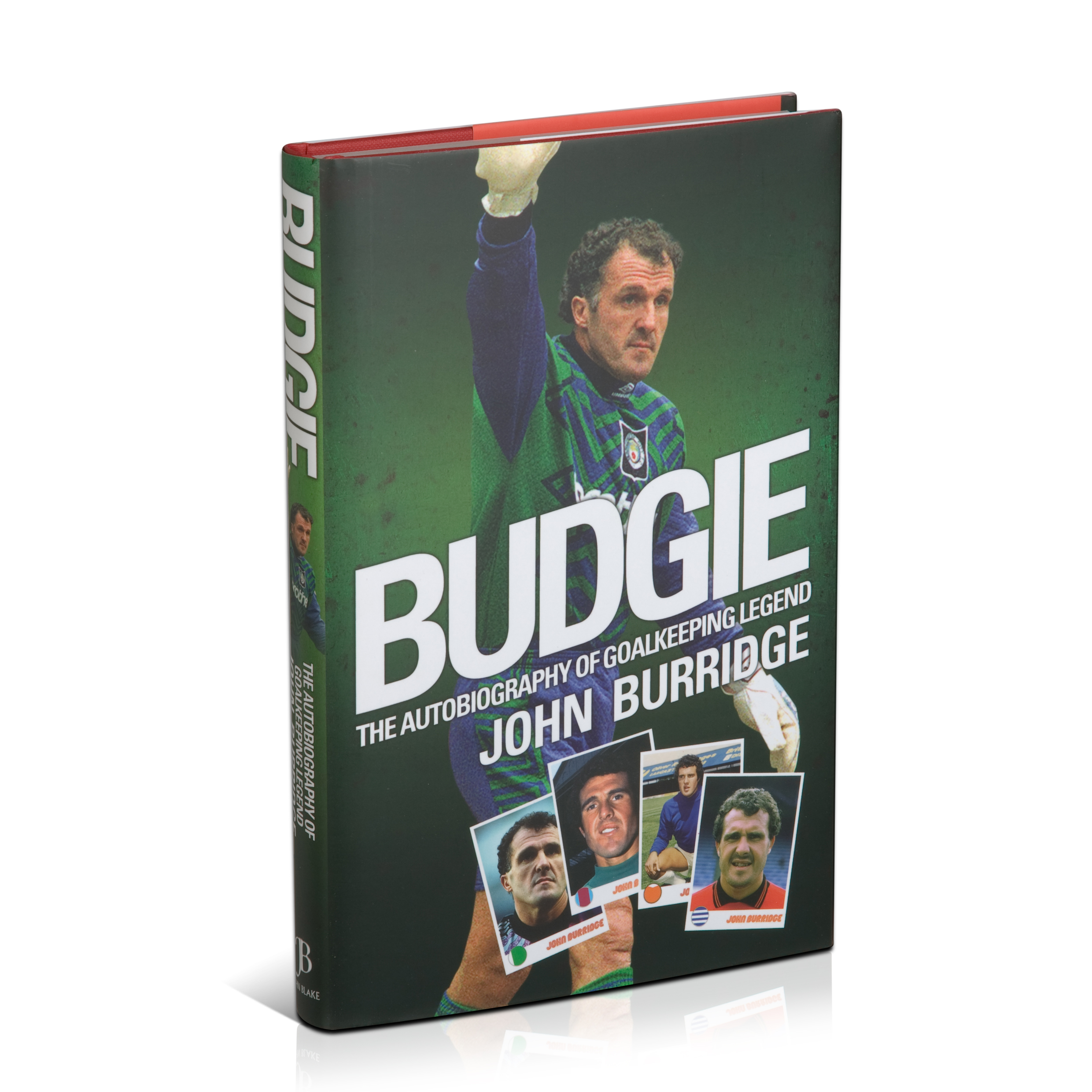 Aston Villa John Budgie Burridge Book