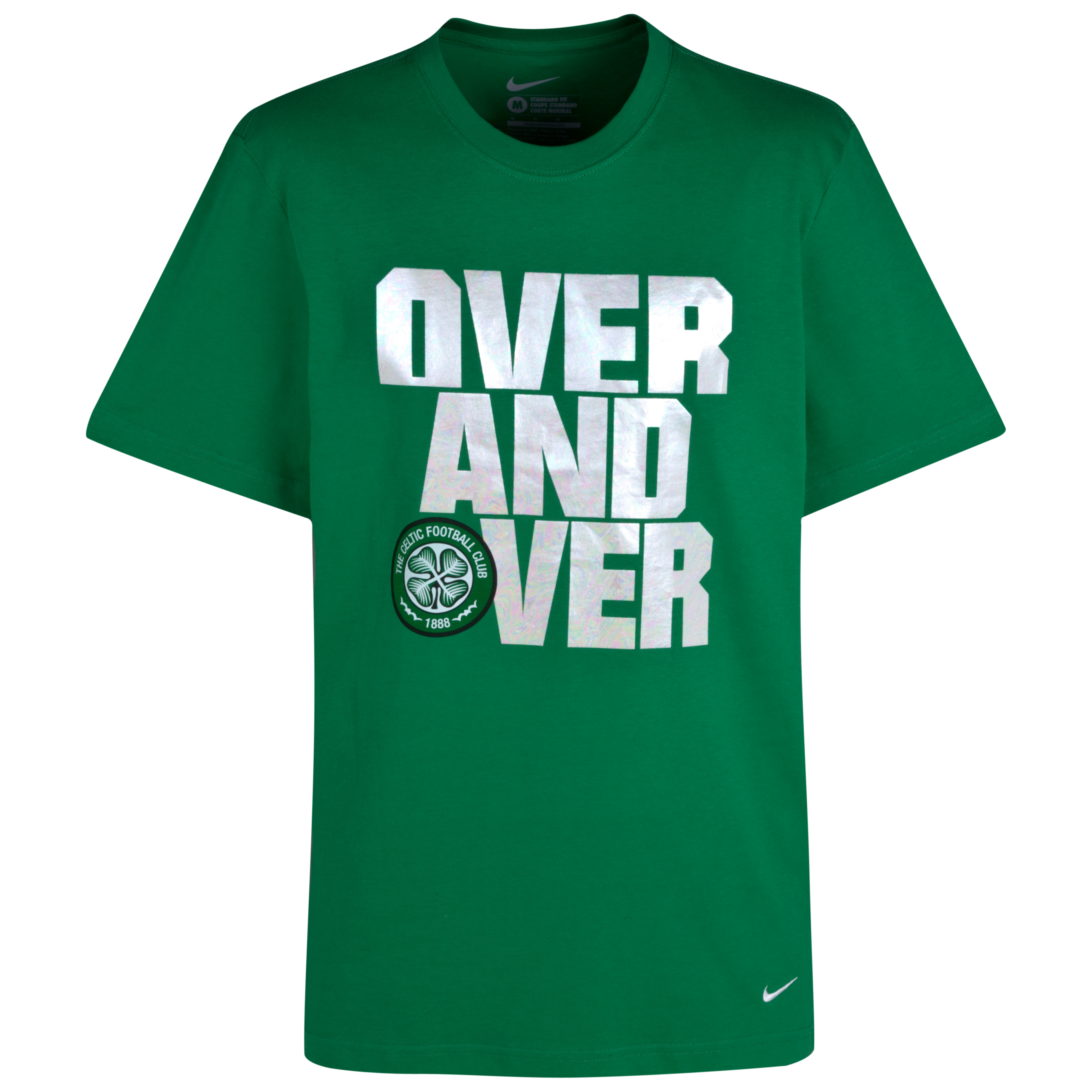 Celtic Core Over T-Shirt - Victory Green - Kids