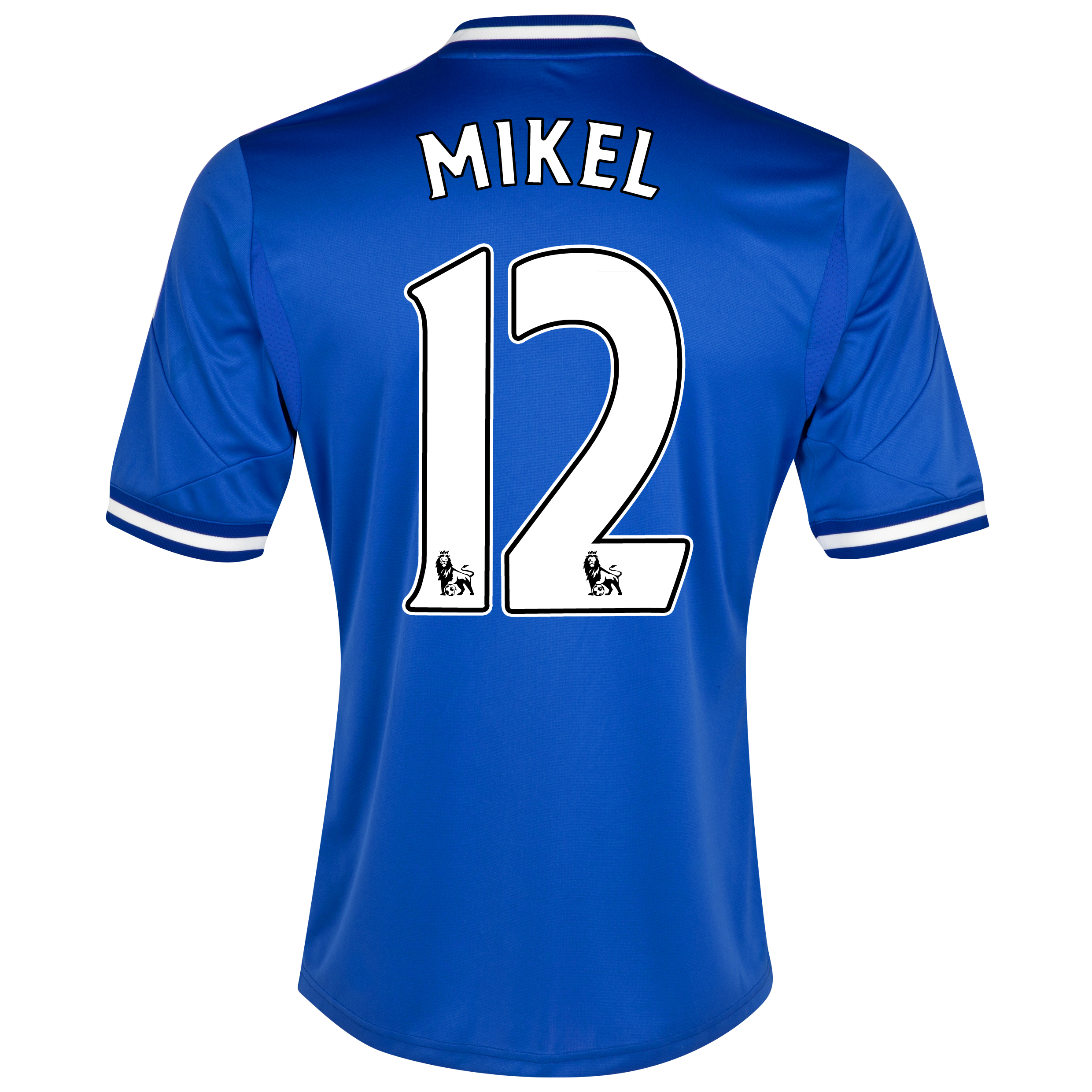 Chelsea Home Shirt 2013/14 with Mikel 12 printing